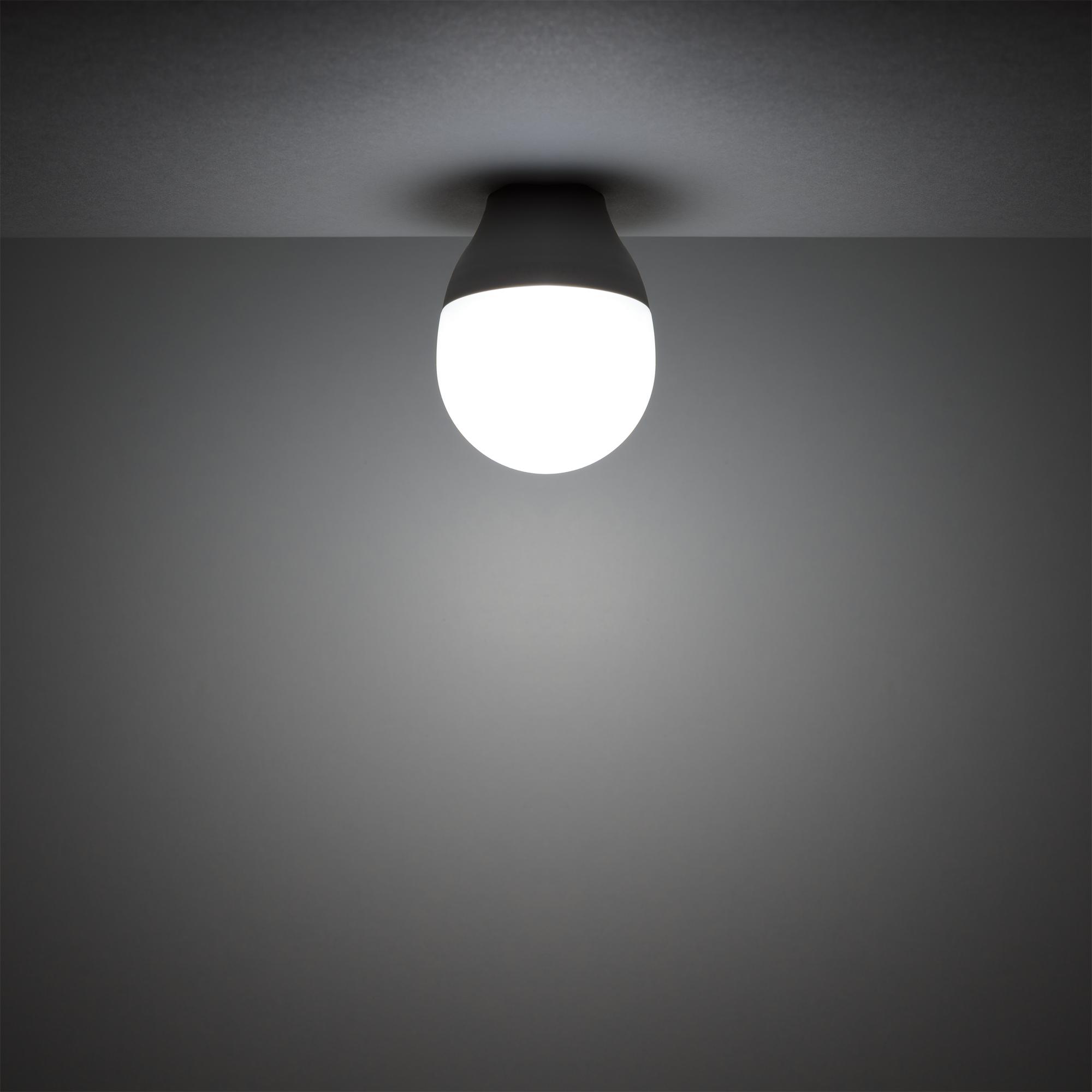 Лампа светодиодная Gauss E14 220-240 В 6 Вт шар матовый 440 лм регулируемый цвет света RGBW