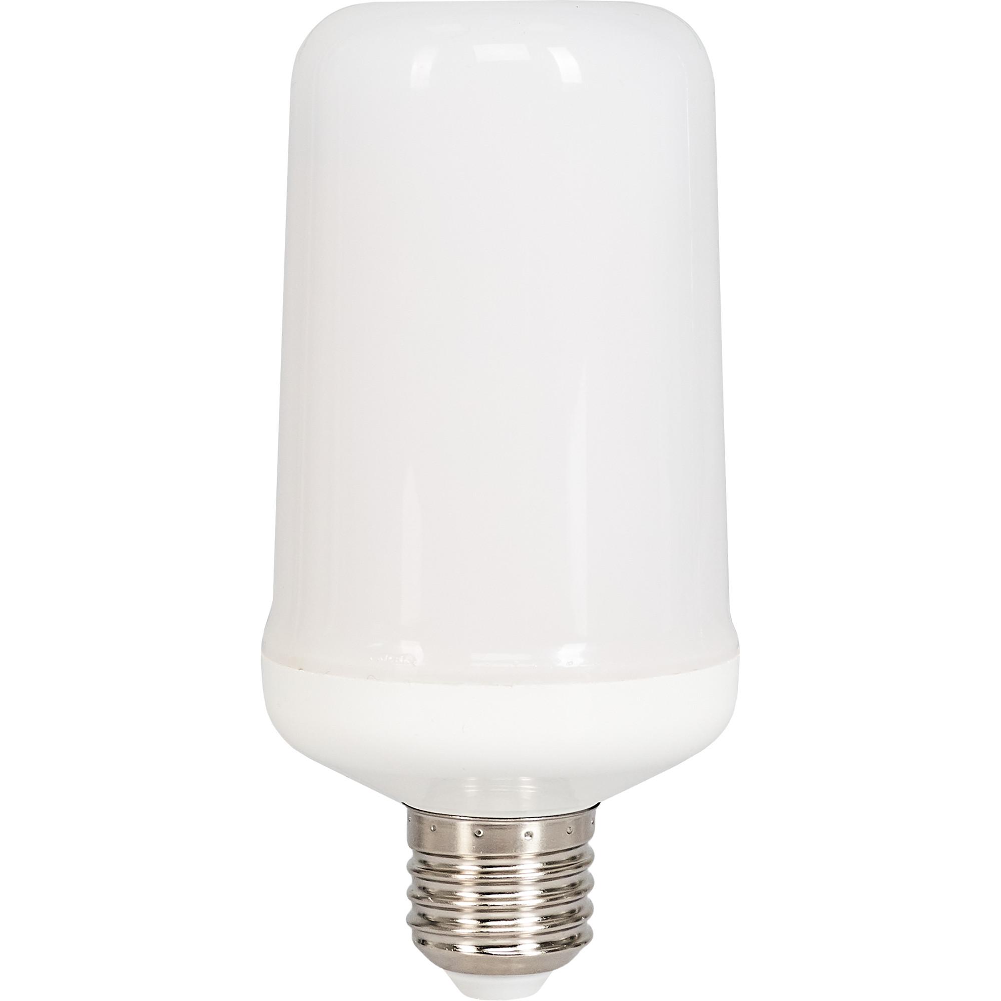 Лампа светодиодная Uniel E27 170-240 В 6 Вт цилиндр 300 лм с эффектом пламени 3 режима свечения