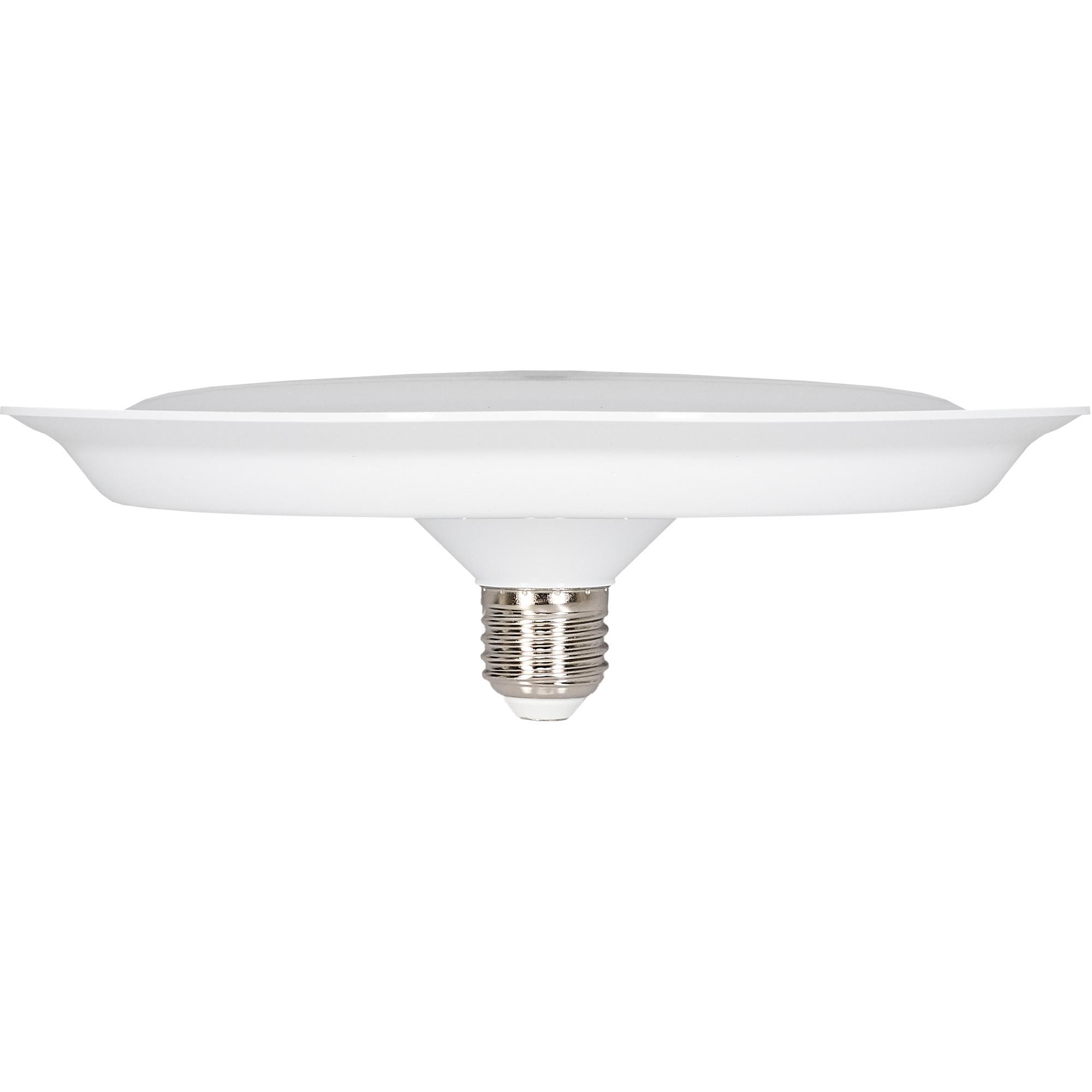 Лампа светодиодная Uniel UFO220 E27 220 В 40 Вт диск матовый 3200 лм холодный белый свет