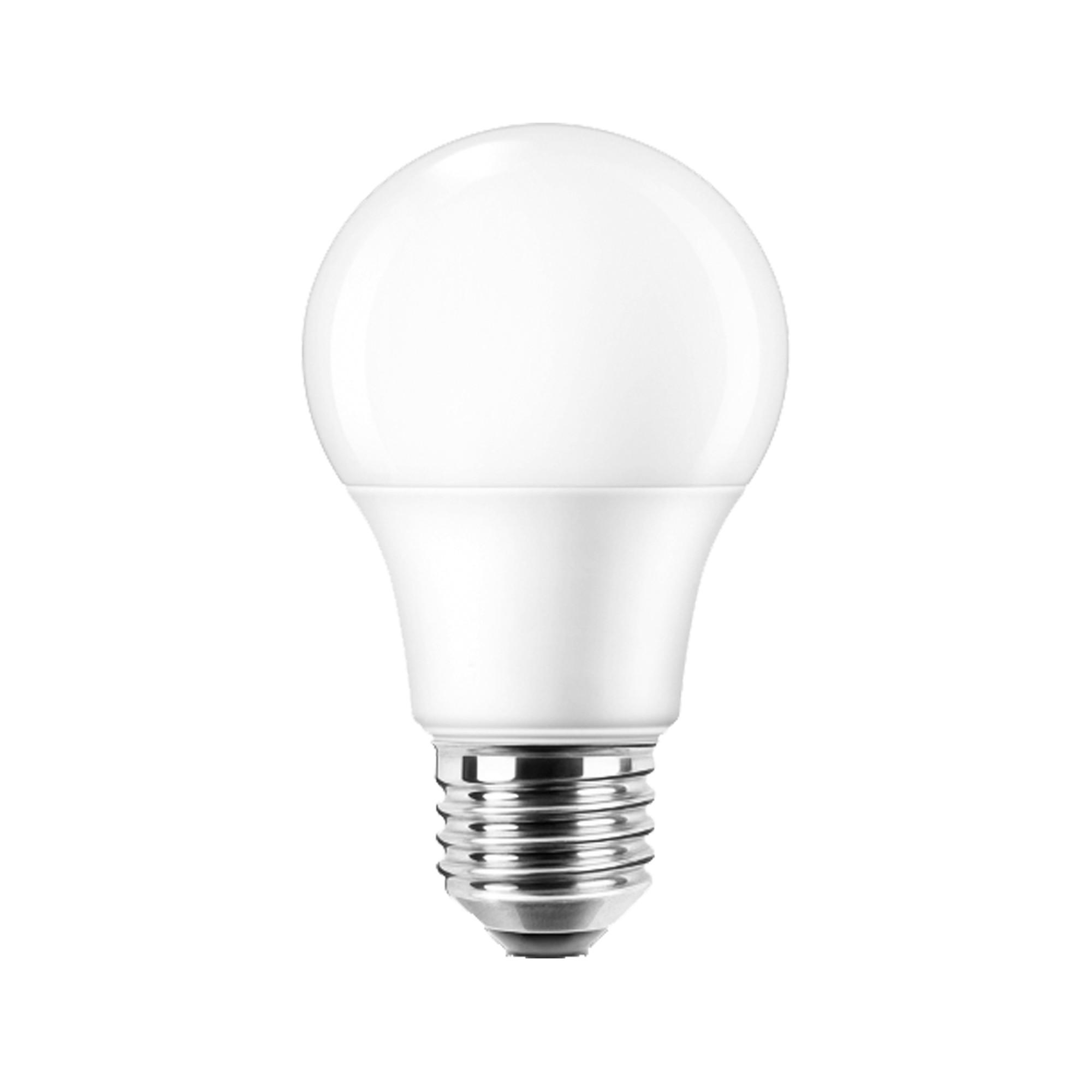 Лампа светодиодная Lexman E27 220 В 8.5 Вт груша матовая 806 лм тёплый белый свет