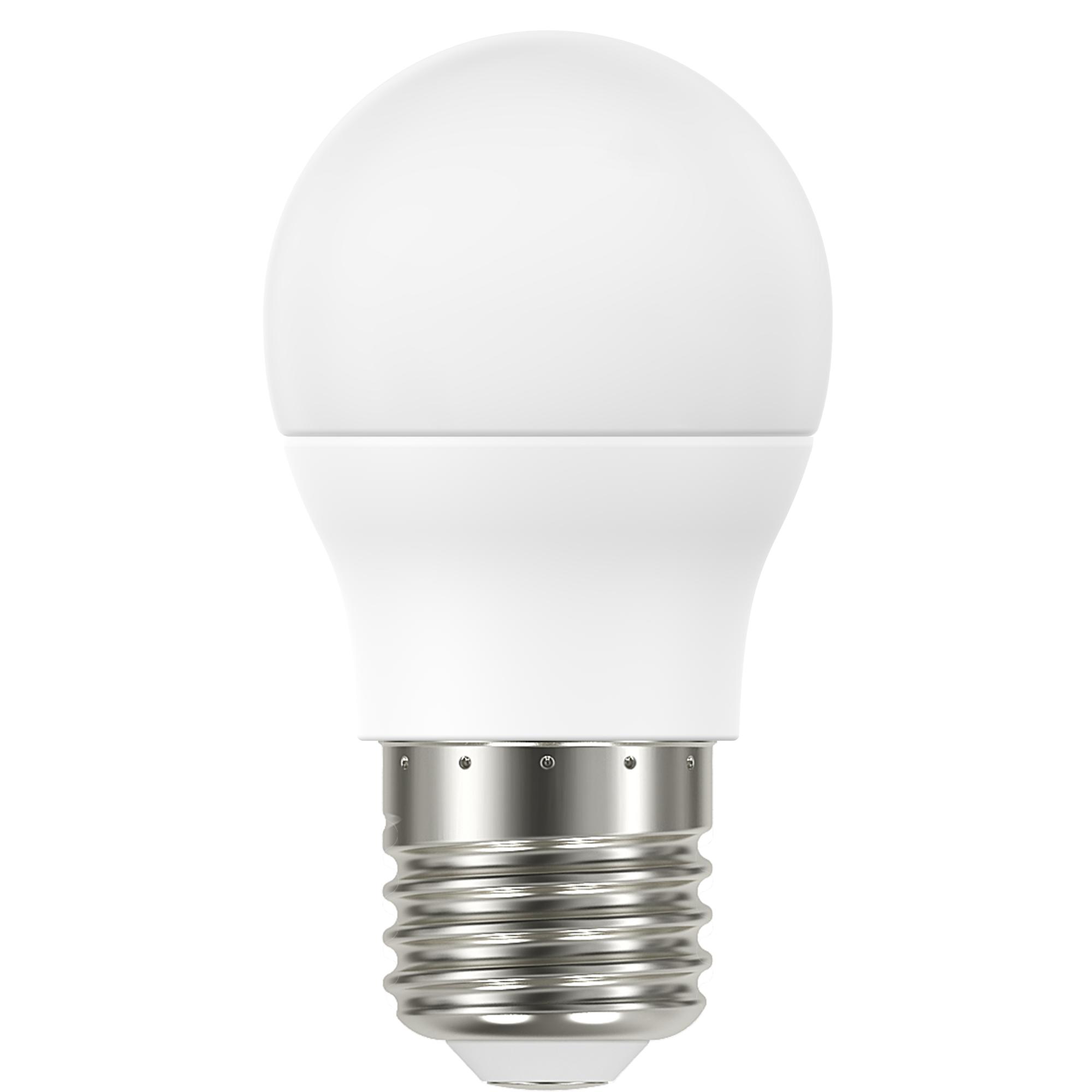 Лампа светодиодная Lexman E27 220 В 6.6 Вт сфера матовая 806 лм тёплый белый свет