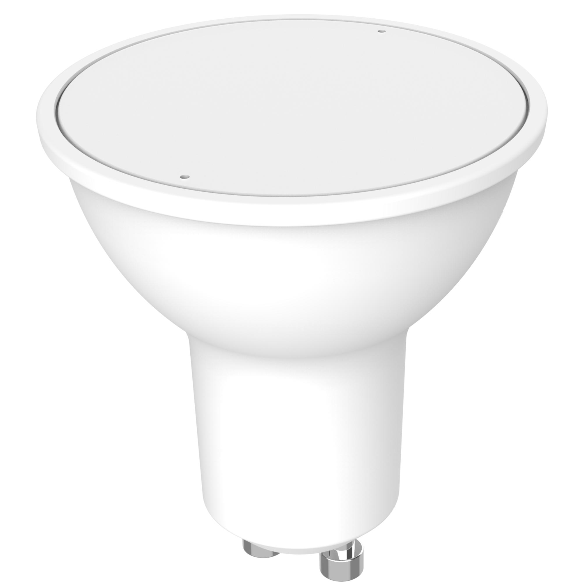 Лампа светодиодная Lexman GU10 220 В 8.3 Вт матовая 670 лм тёплый белый свет