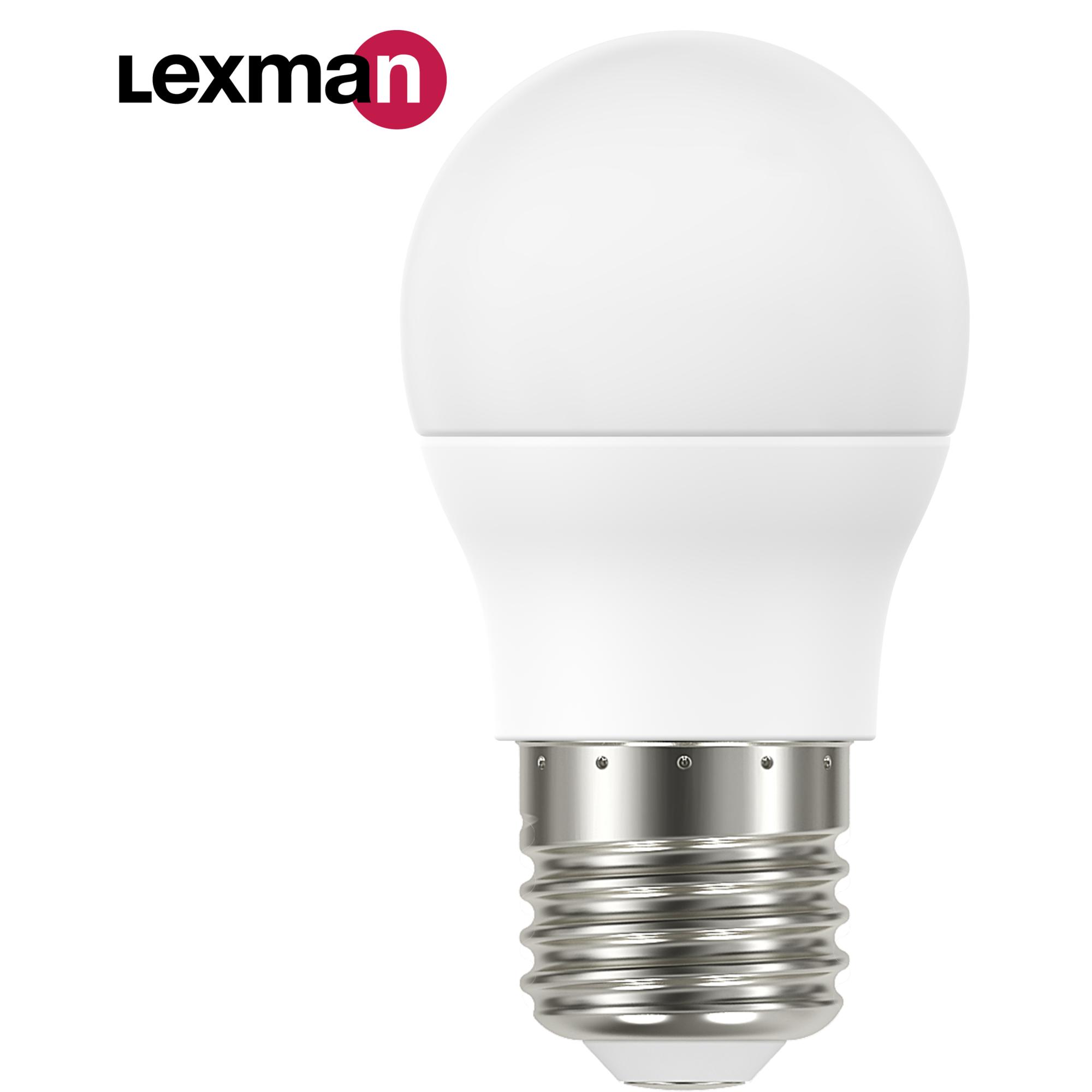 Лампа светодиодная Lexman E27 220 В 6.6 Вт шар матовая 806 лм белый свет
