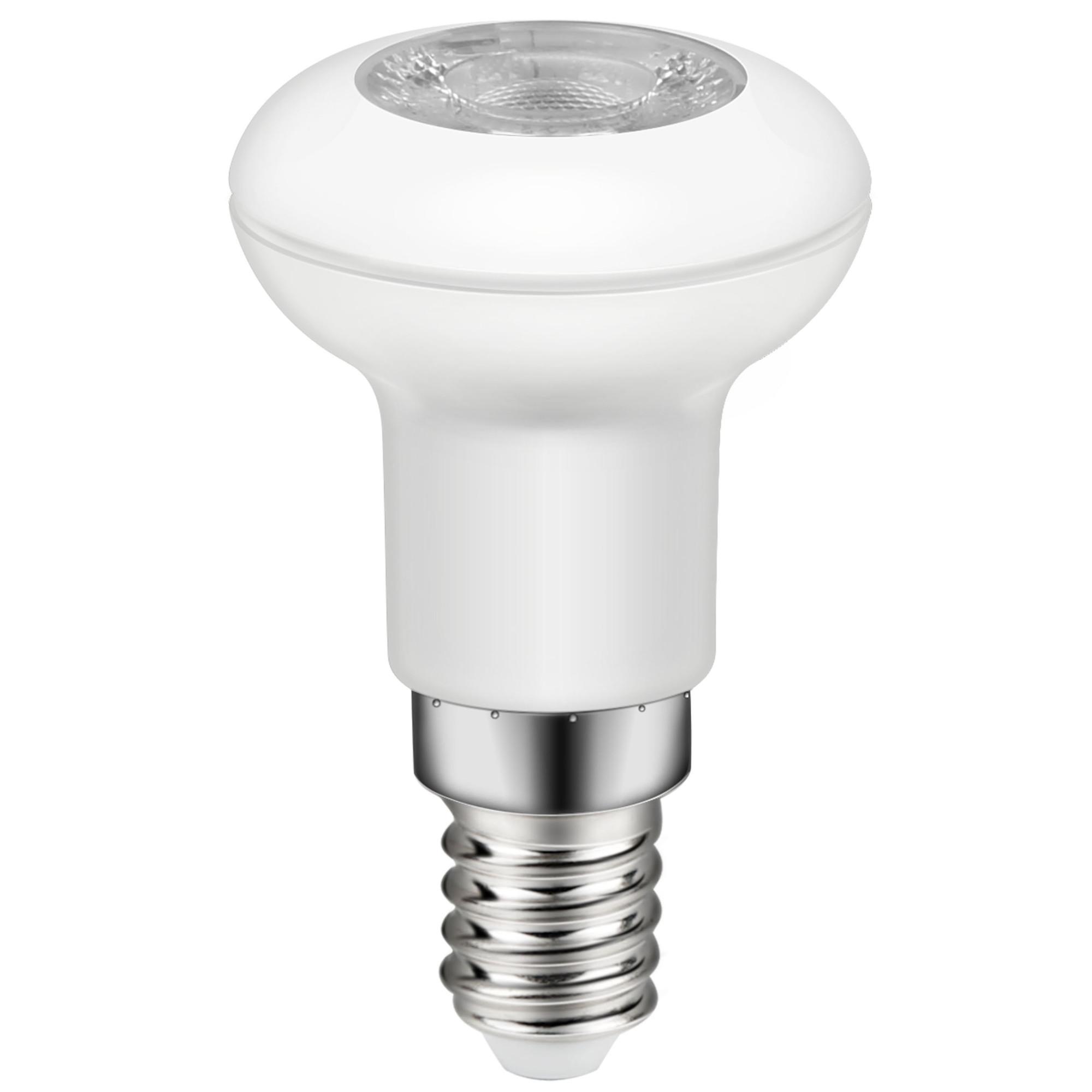 Лампа светодиодная Lexman E14 220 В 2.5 Вт рефлектор прозрачный 196 лм тёплый белый свет