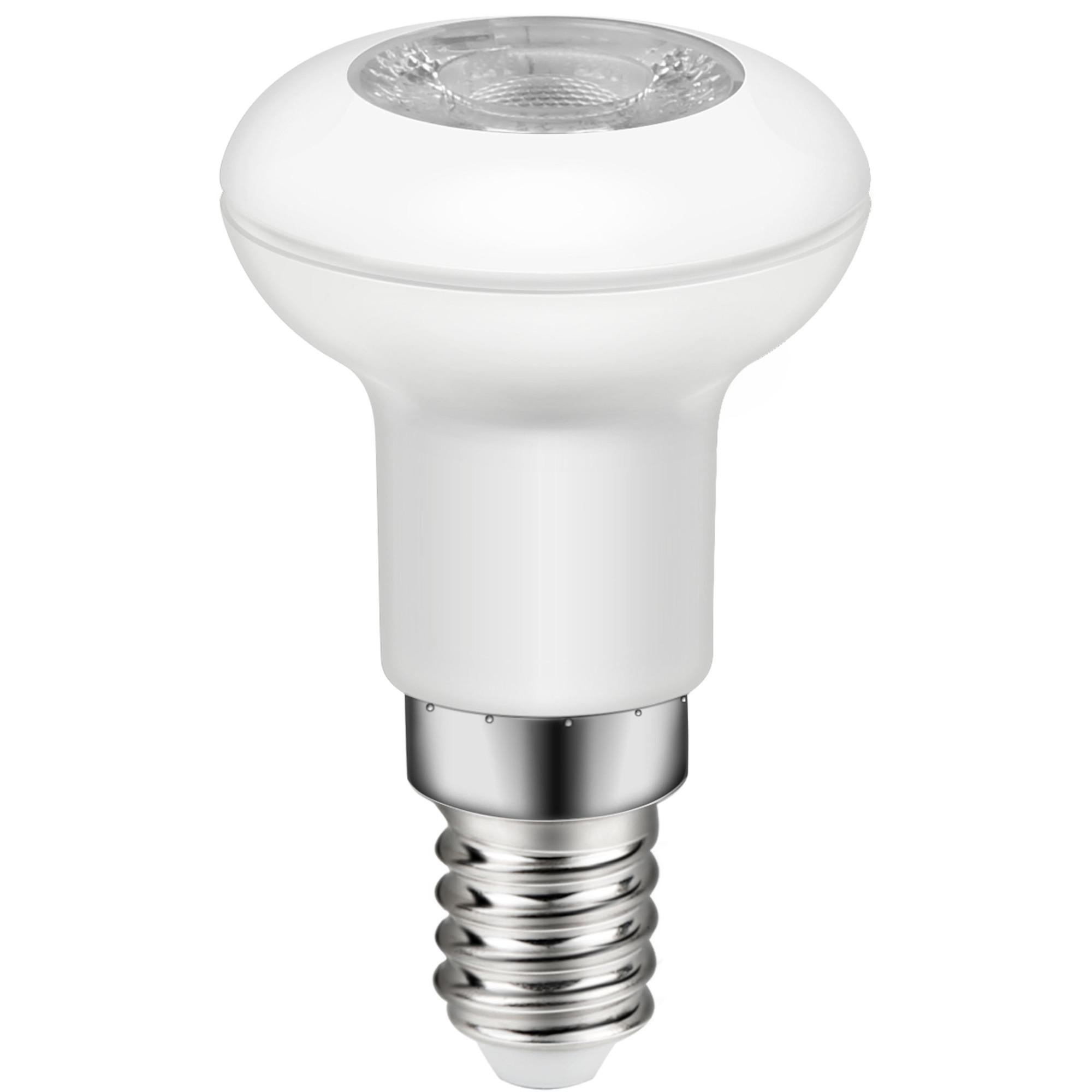 Лампа светодиодная Lexman E14 220 В 2.5 Вт рефлектор прозрачный 196 лм белый свет