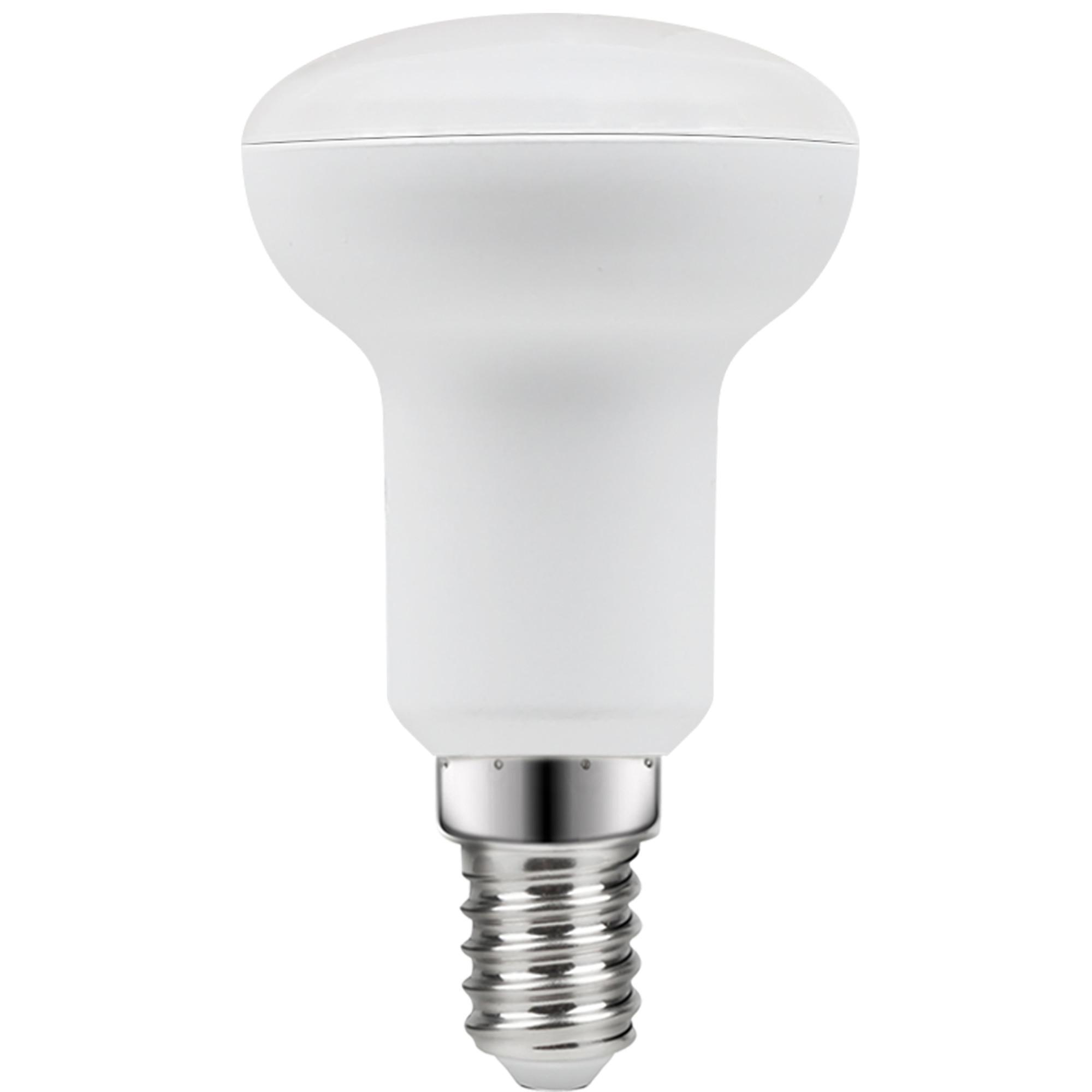 Лампа светодиодная Lexman E14 220 В 5 Вт отражатель прозрачный 470 лм тёплый белый свет