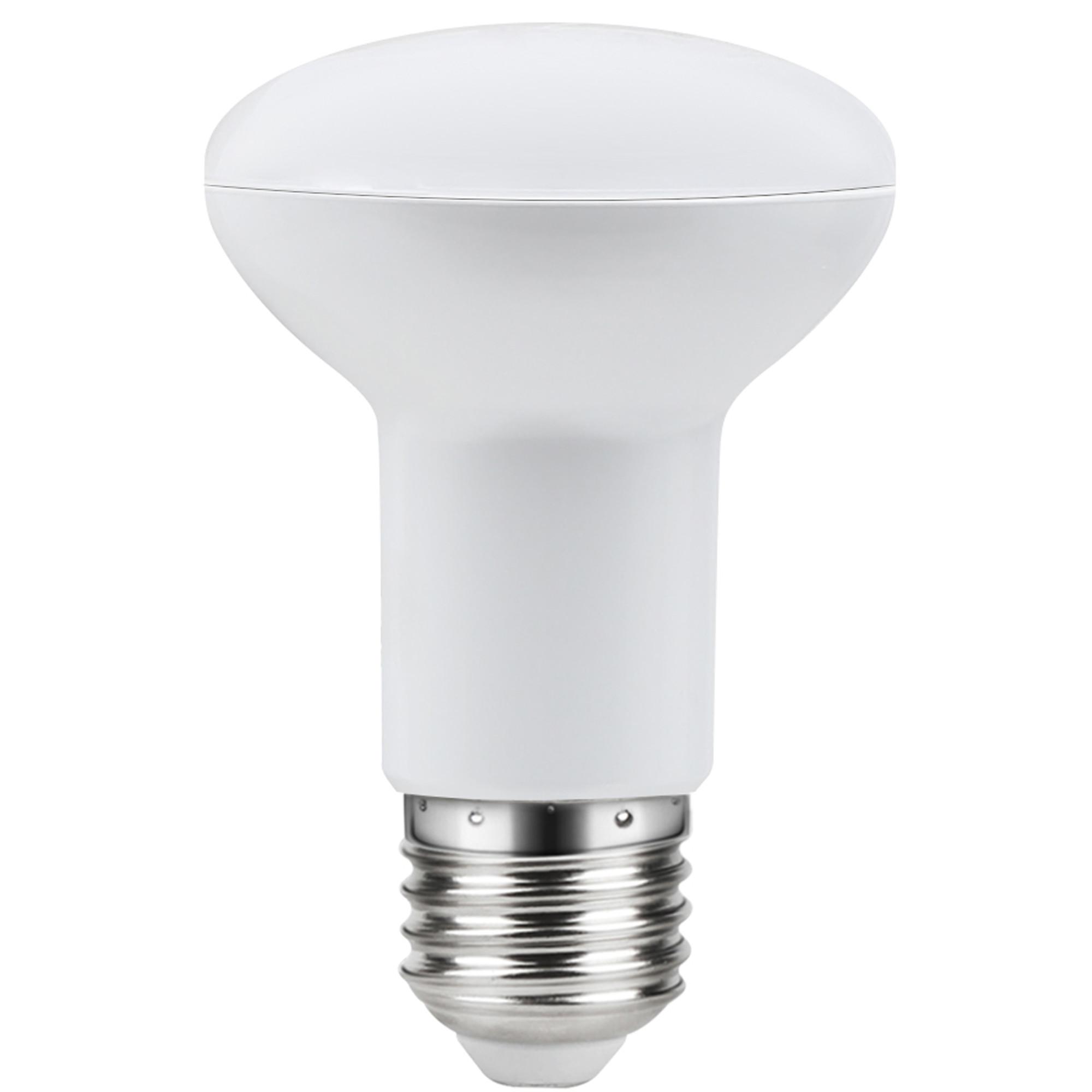 Лампа светодиодная Lexman E27 220 В 7.5 Вт рефлектор прозрачный 806 лм тёплый белый свет