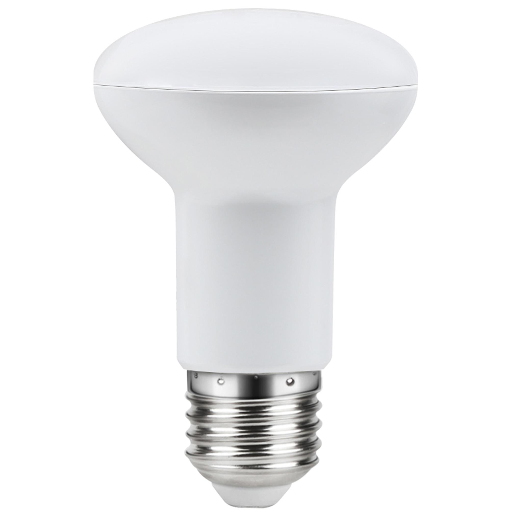 Лампа светодиодная Lexman E27 220 В 7.5 Вт рефлектор прозрачный 806 лм белый свет