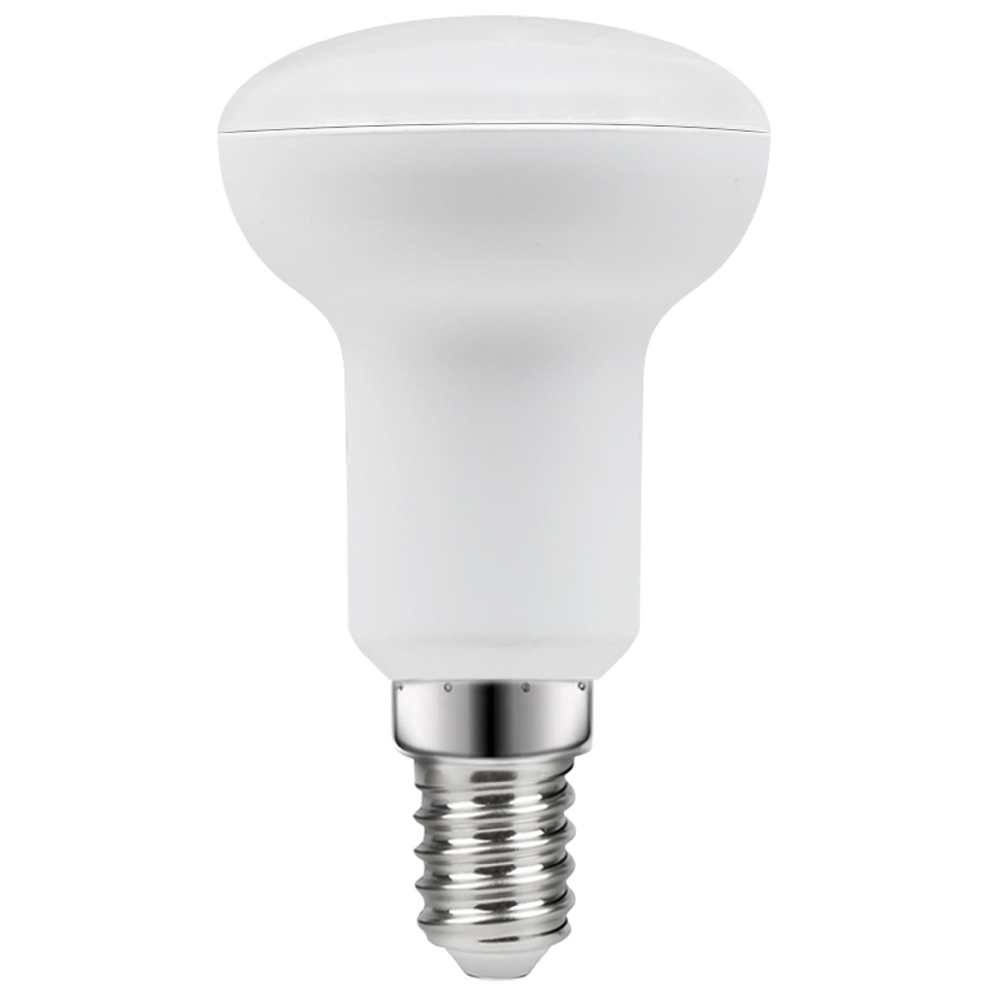 Лампа светодиодная Lexman E14 220 В 7.5 Вт отражатель прозрачный 806 лм белый свет