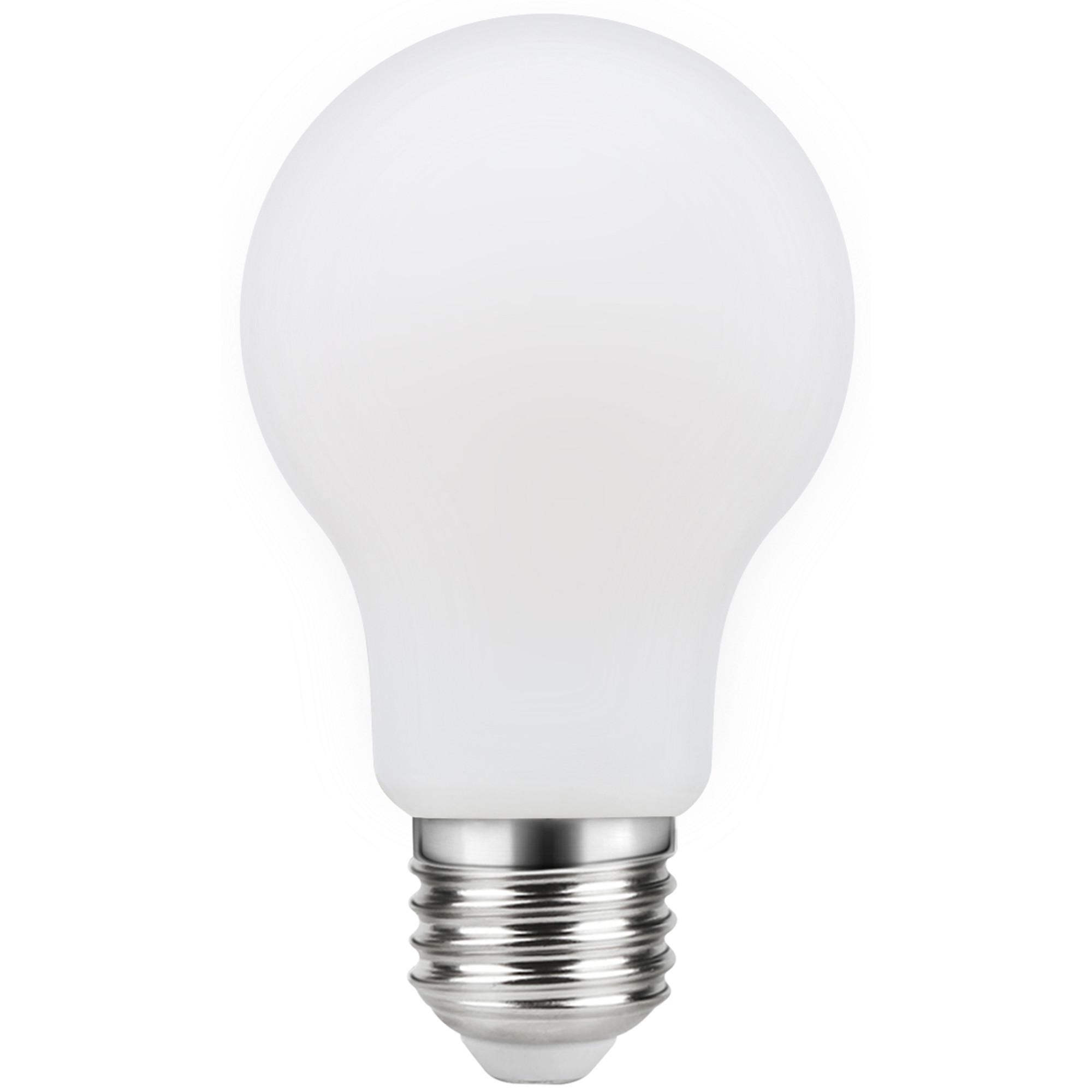Лампа светодиодная филаментная Lexman E27 220 В 11 Вт груша матовая 1521 лм тёплый белый свет