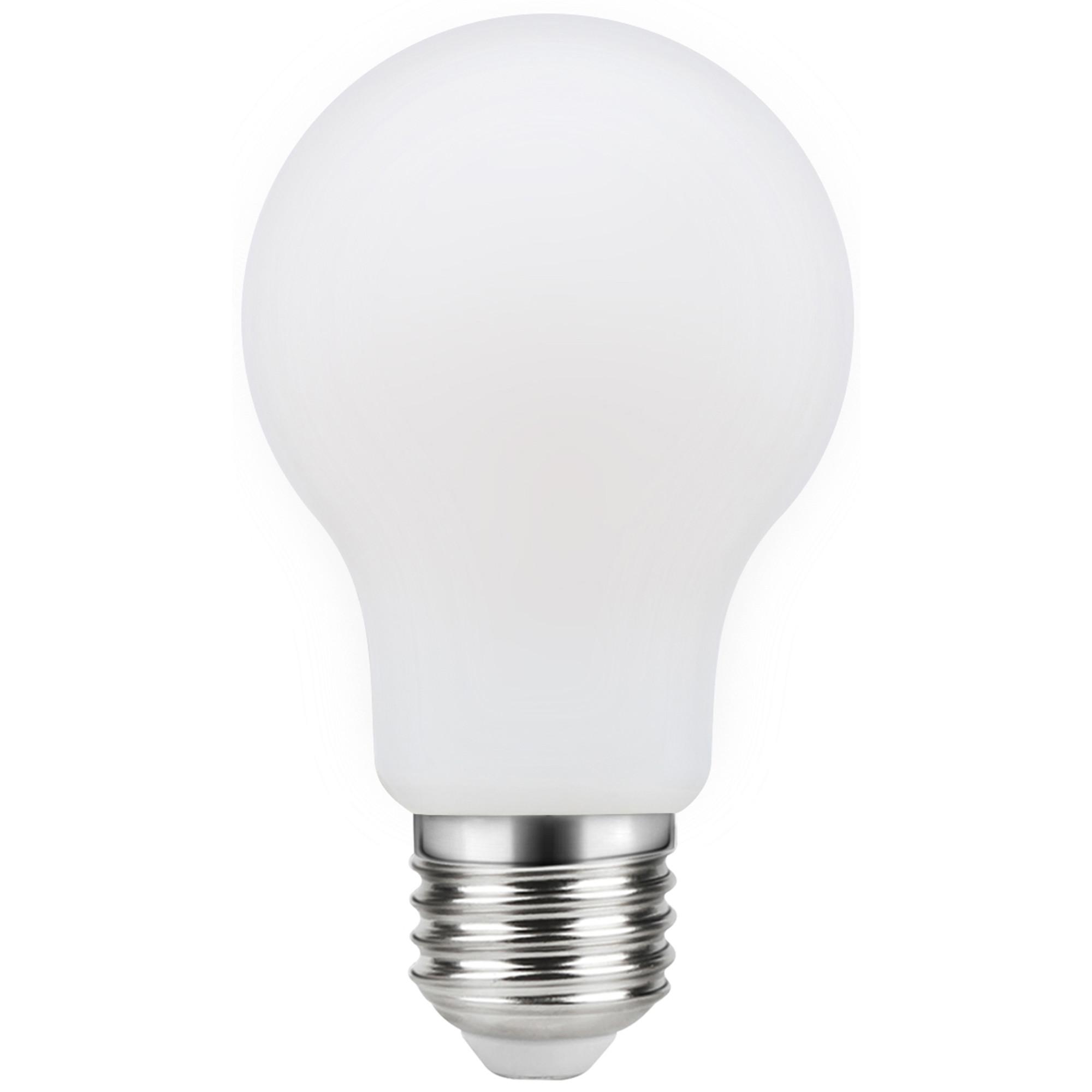 Лампа светодиодная филаментная Lexman E27 220 В 11 Вт груша матовая 1521 лм белый свет