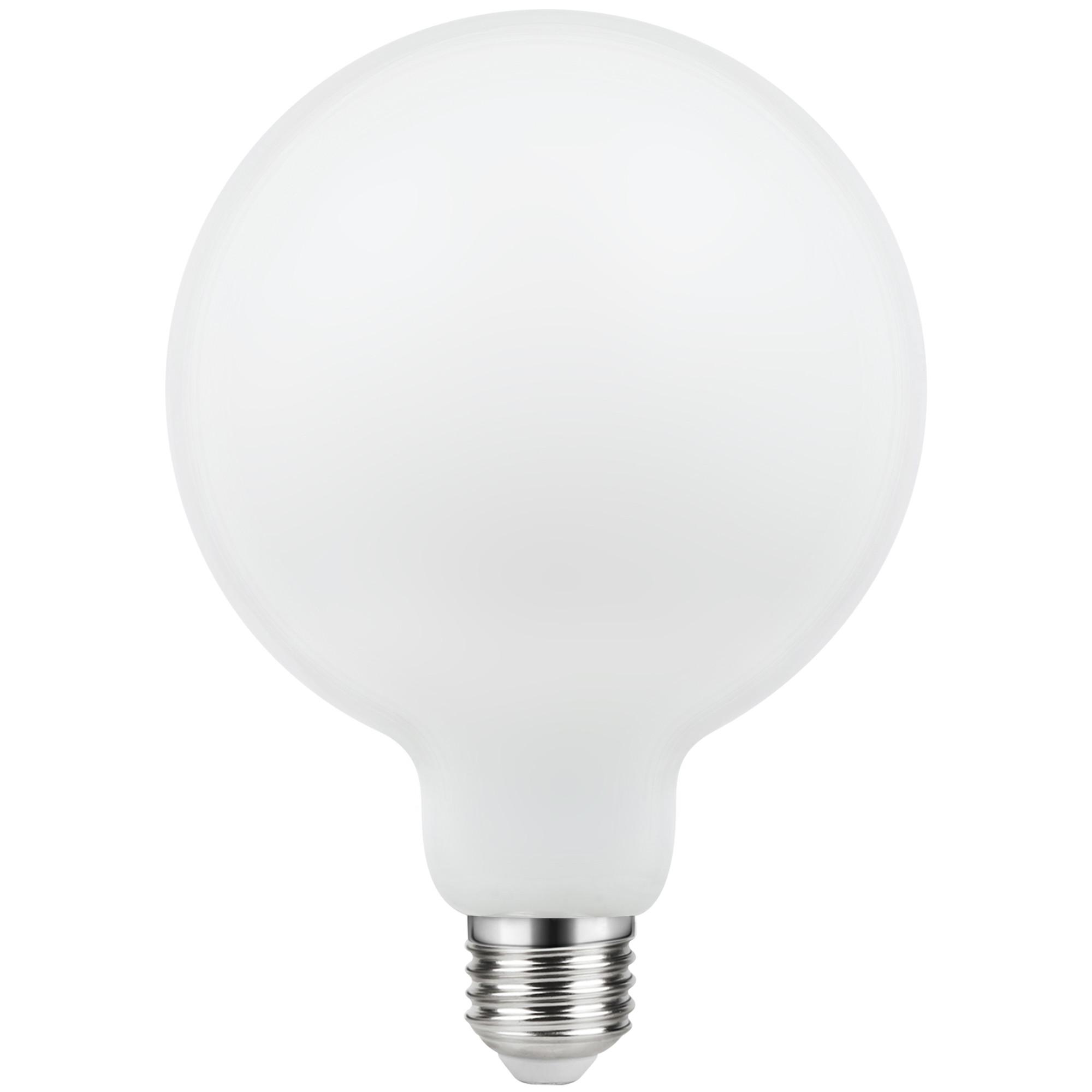 Лампа светодиодная филаментная Lexman E27 220 В 10.5 Вт шар матовый 1521 лм белый свет
