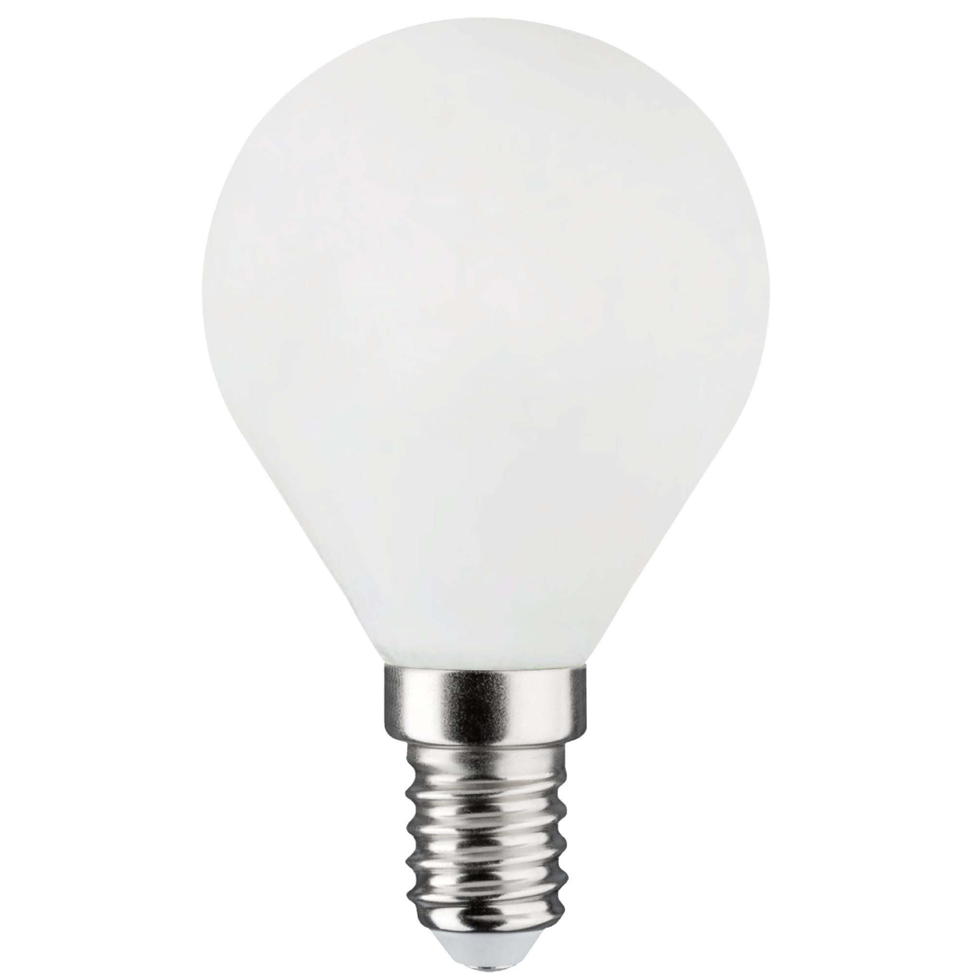 Лампа светодиодная филаментная Lexman E14 220 В 4.5 Вт сфера матовая 470 лм белый свет