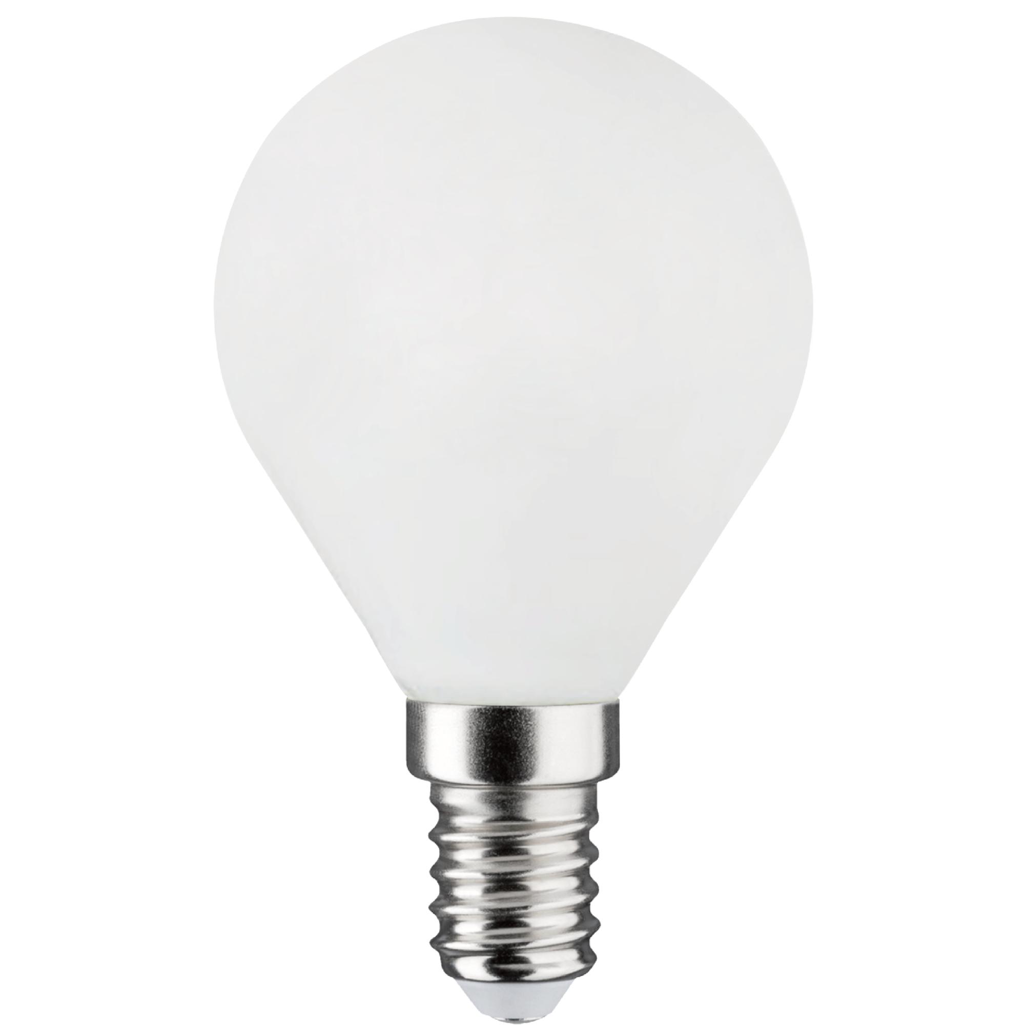 Лампа светодиодная филаментная Lexman E14 220 В 6.5 Вт сфера матовая 806 лм тёплый белый свет
