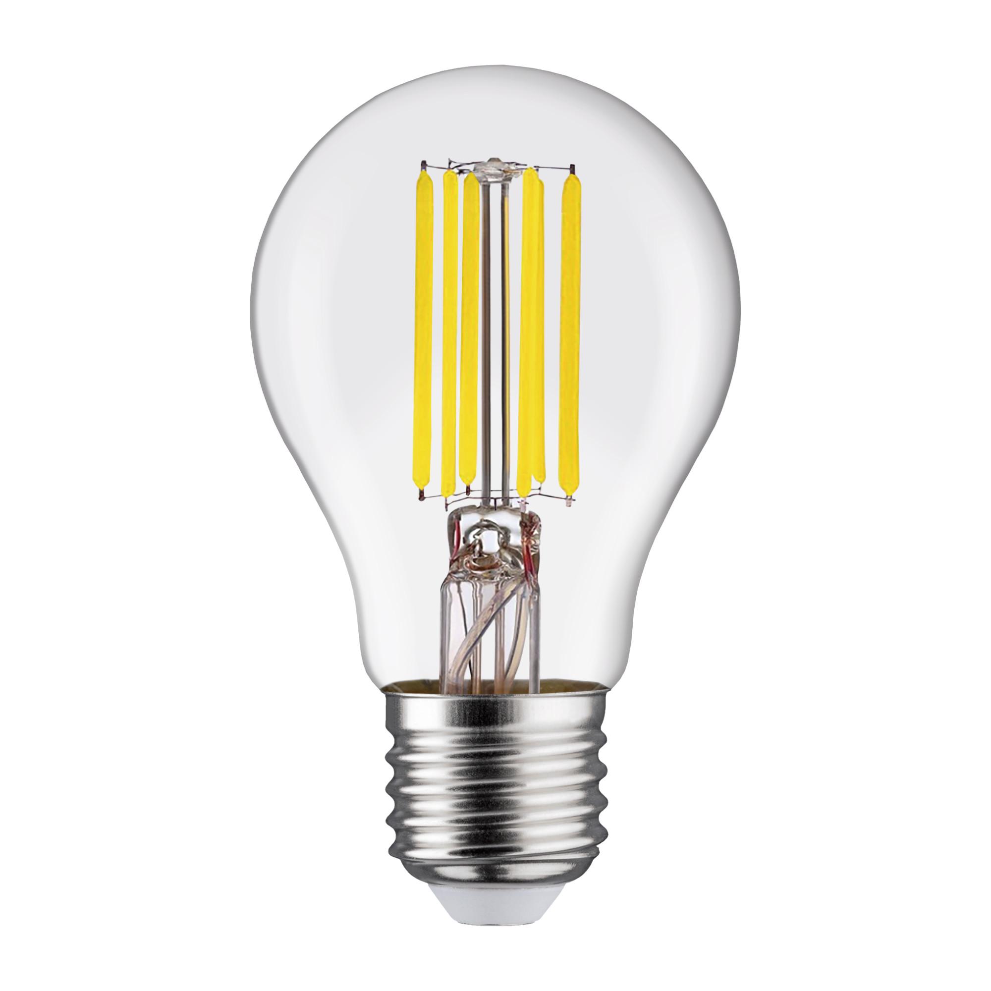 Лампа светодиодная филаментная Lexman E27 220 В 11 Вт груша прозрачная 1521 лм белый свет