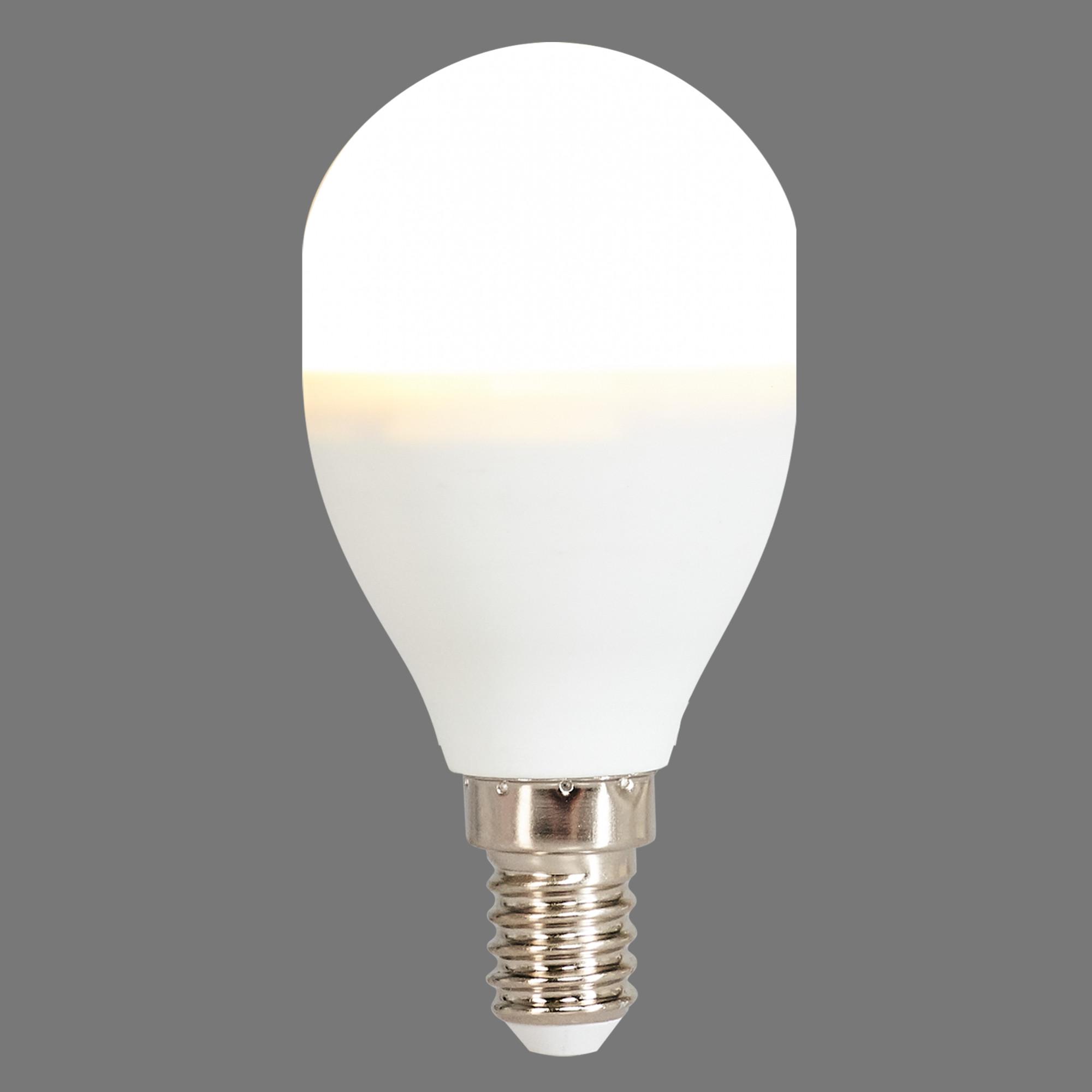 Лампа светодиодная Osram E14 220 В 8 Вт шар матовая 806 лм тёплый белый свет