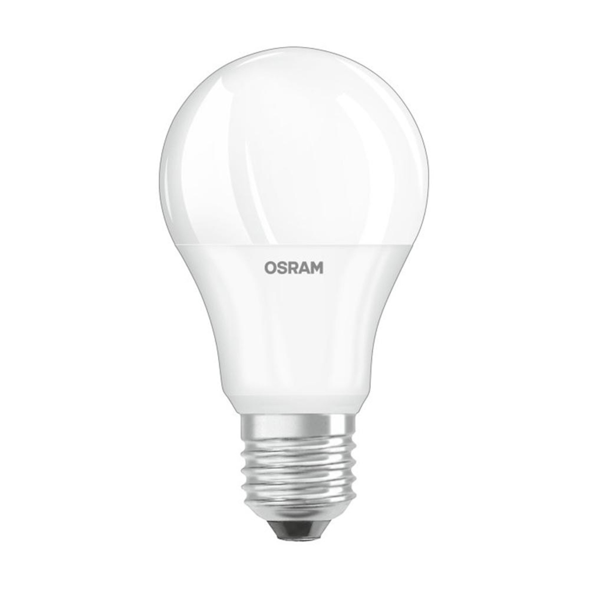Лампа светодиодная Osram E27 7 Вт груша матовая 600 лм холодный белый свет