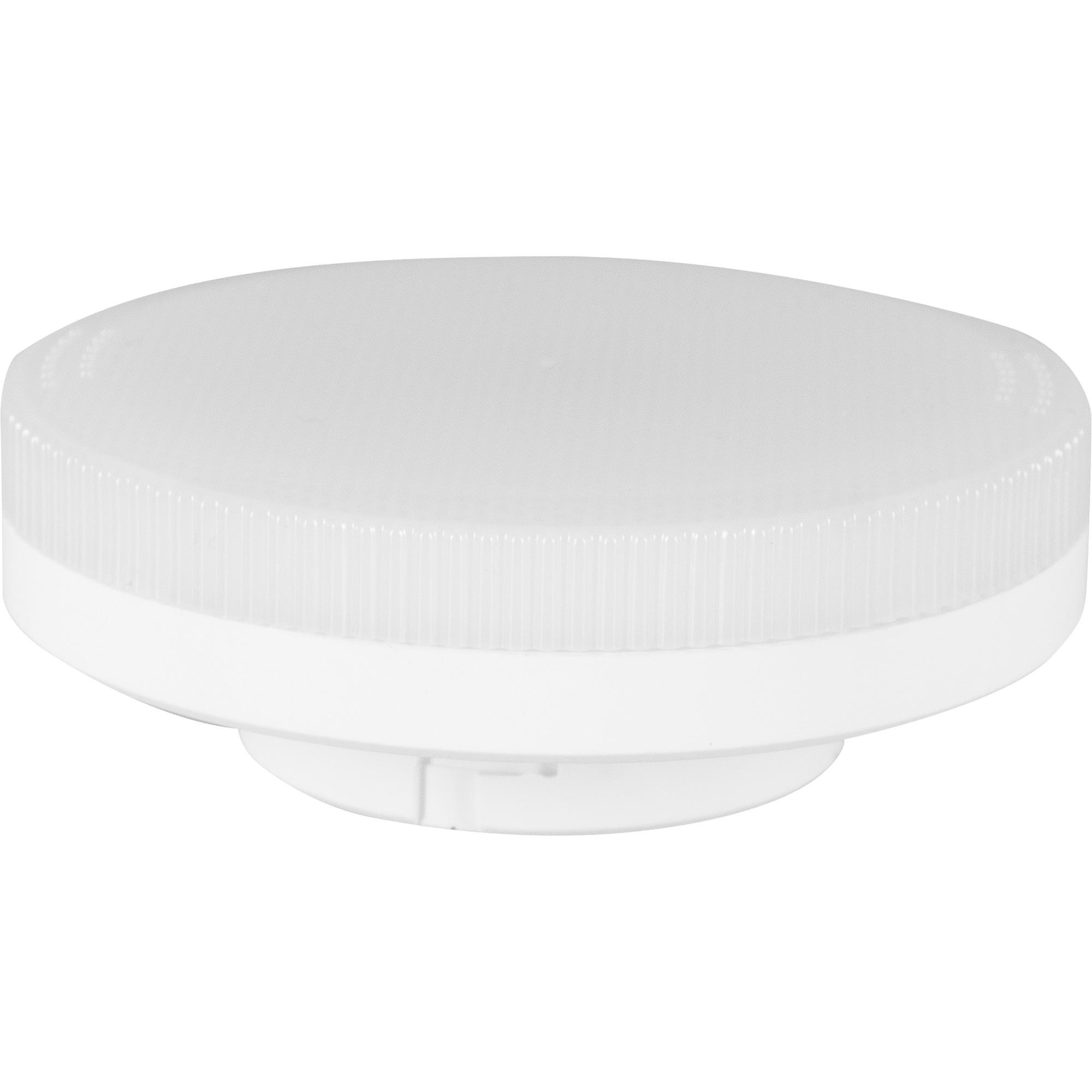 Лампа светодиодная Gauss Basic Gx53 8.5 Вт круг матовый 810 лм тёплый белый свет