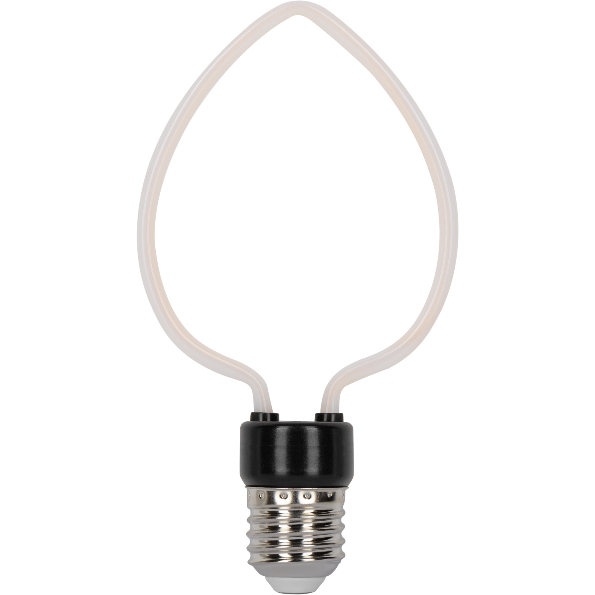Лампа светодиодная Gauss Bulbless Heart E27 230 В 4 Вт свеча декоративная 390 лм тёплый белый свет