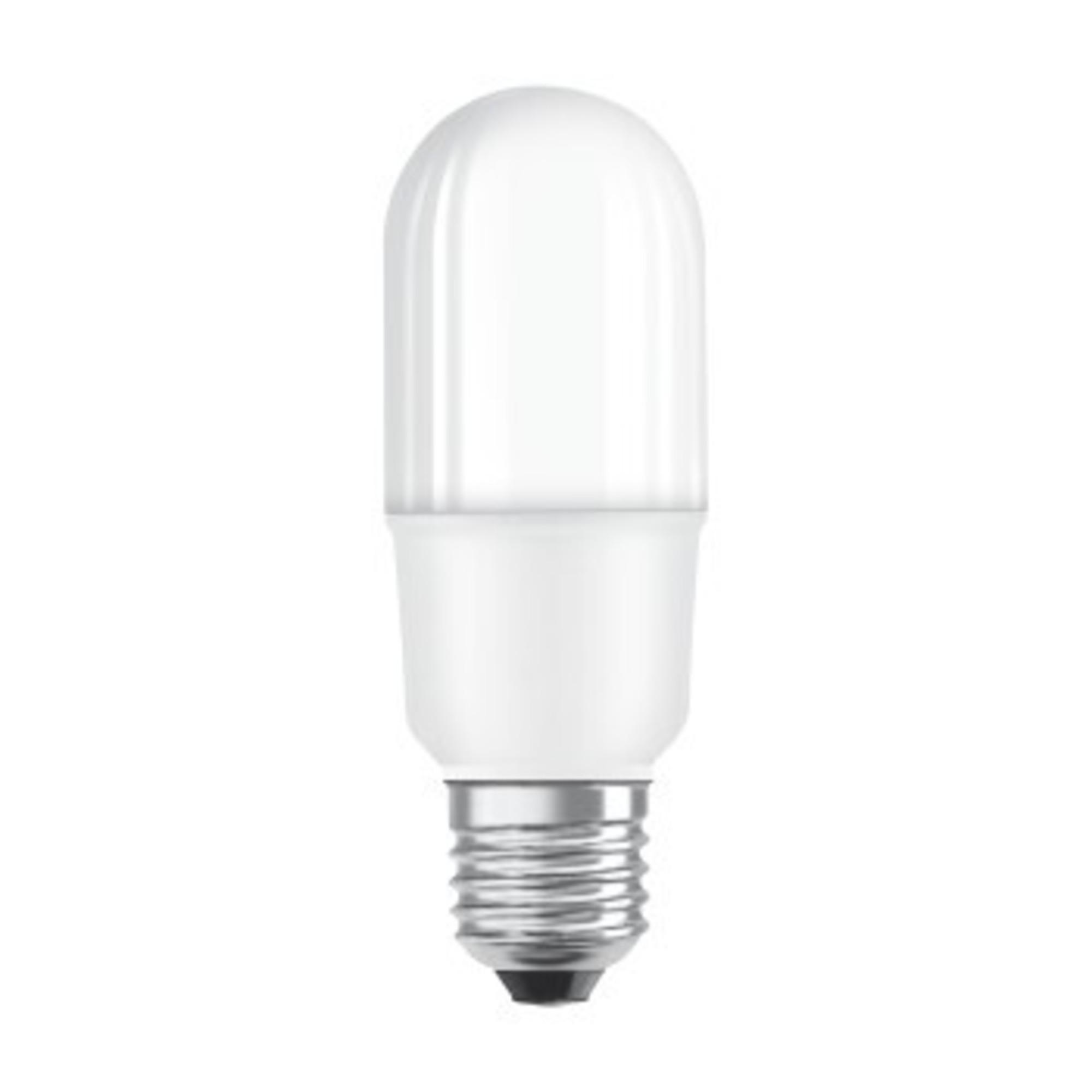 Лампа светодиодная Osram E27 10 Вт цилиндр матовая 1050 лм тёплый белый свет