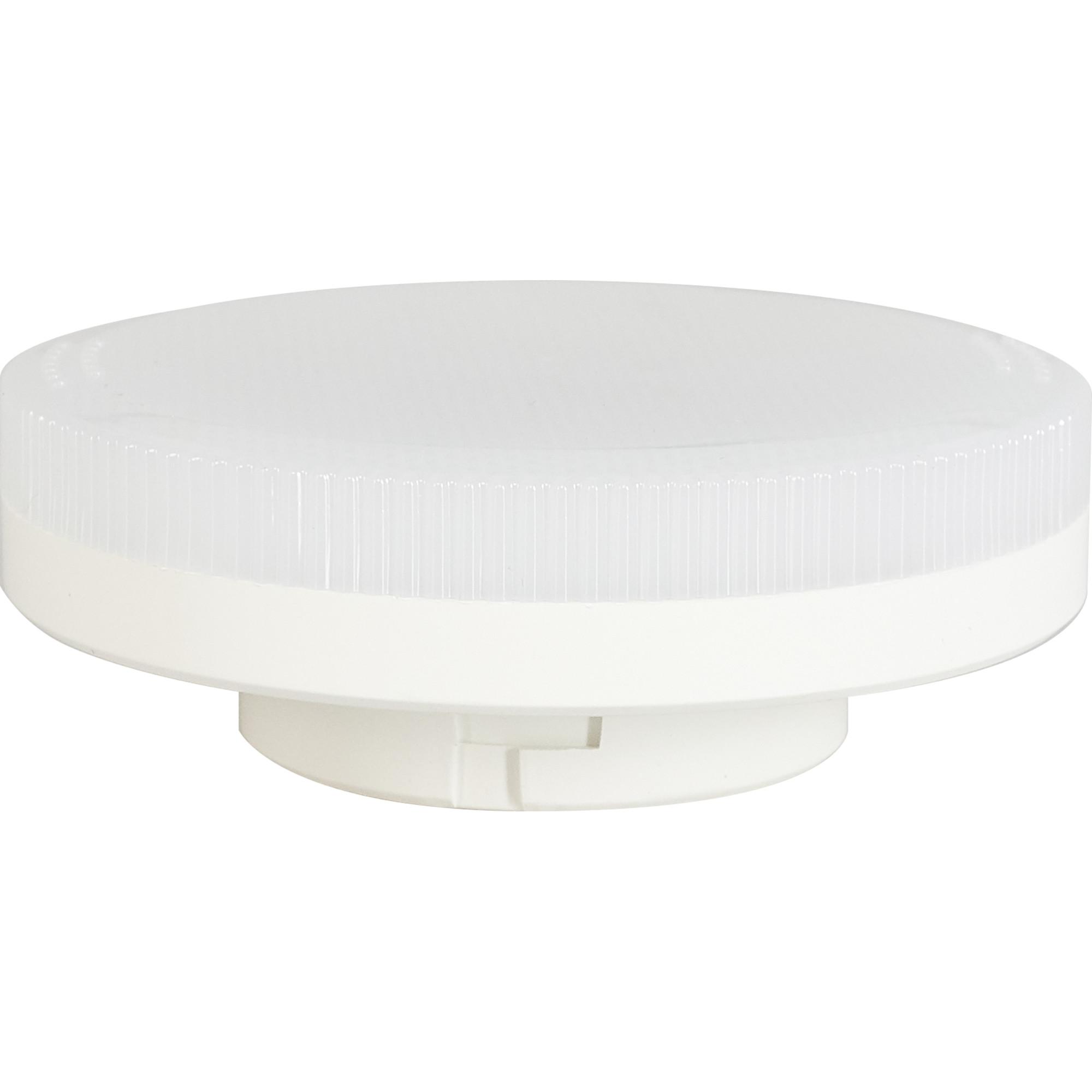 Лампа светодиодная Gauss Basic GX53 230 В 8.5 Вт диск 510 лм свет тёплый белый