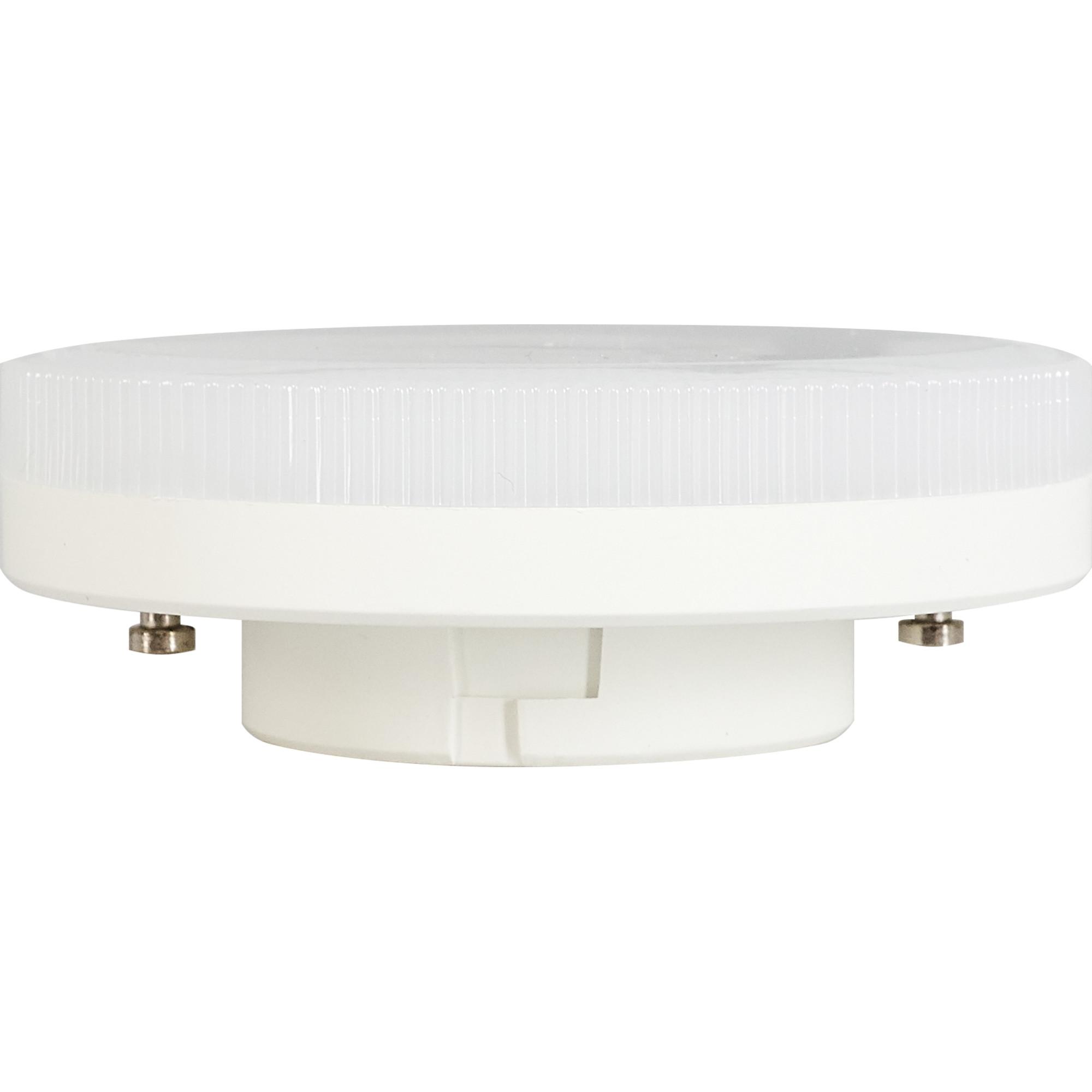 Лампа светодиодная Gauss Basic GX53 230 В 10.5 Вт диск 750 лм свет тёплый белый