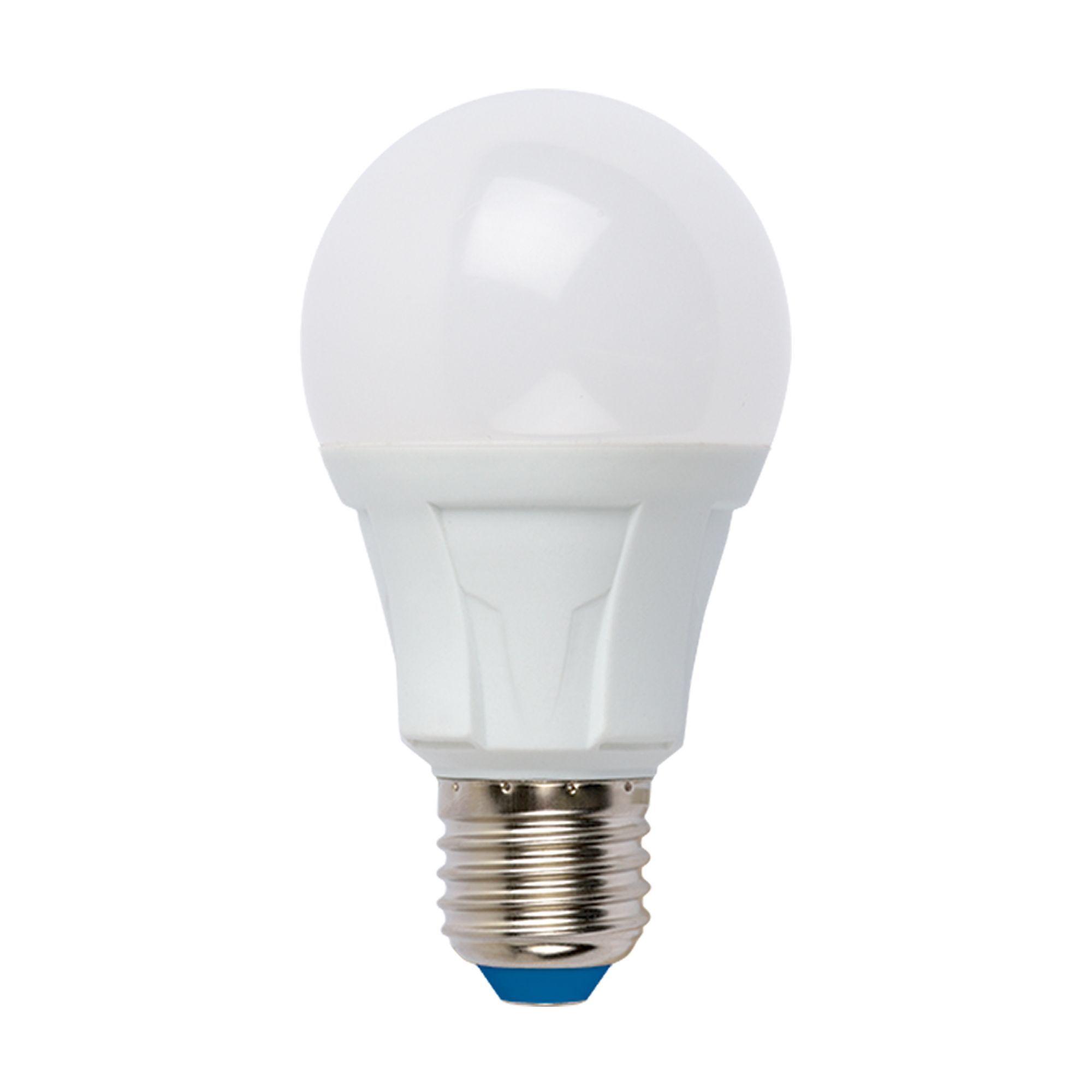 Лампа светодиодная «Яркая» E27 220 В 8 Вт груша матовая 700 лм холодный белый свет