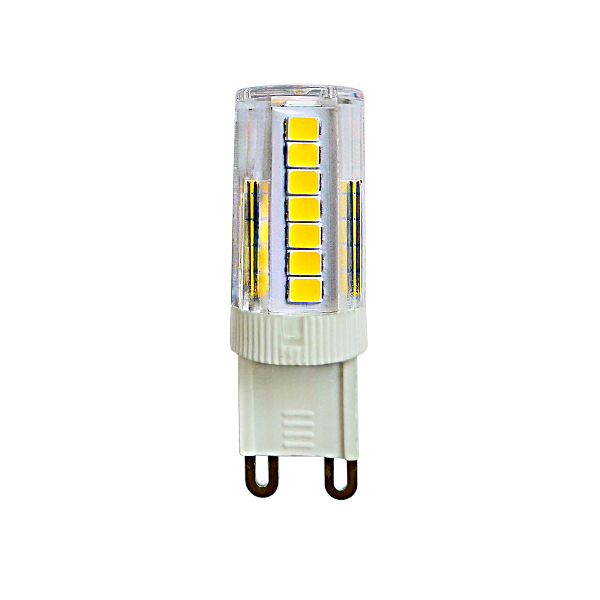 Лампа светодиодная G9 5 Вт капсула прозрачная 425 лм тёплый белый свет