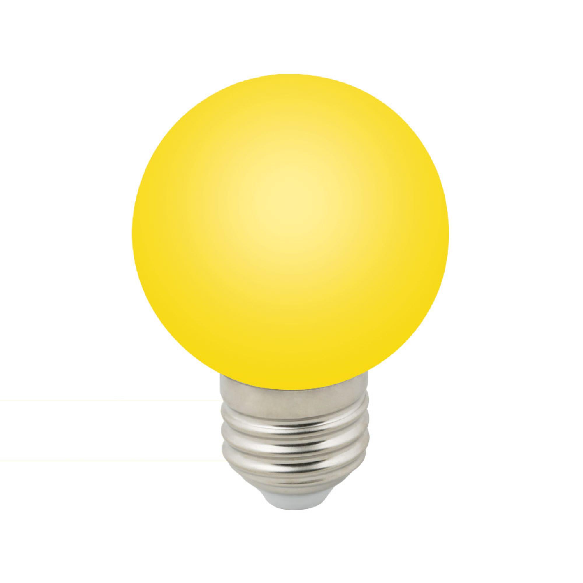 Лампа светодиодная E27 3 Вт шар жёлтый 240 лм жёлтый свет