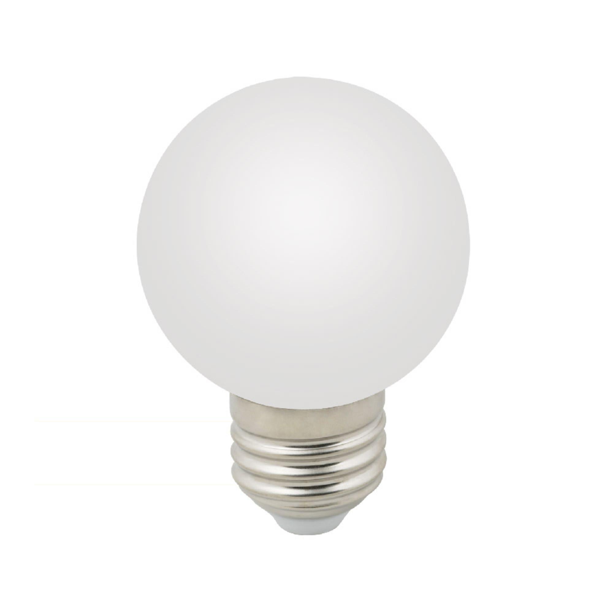 Лампа светодиодная E27 3 Вт шар белый 240 лм тёплый белый свет