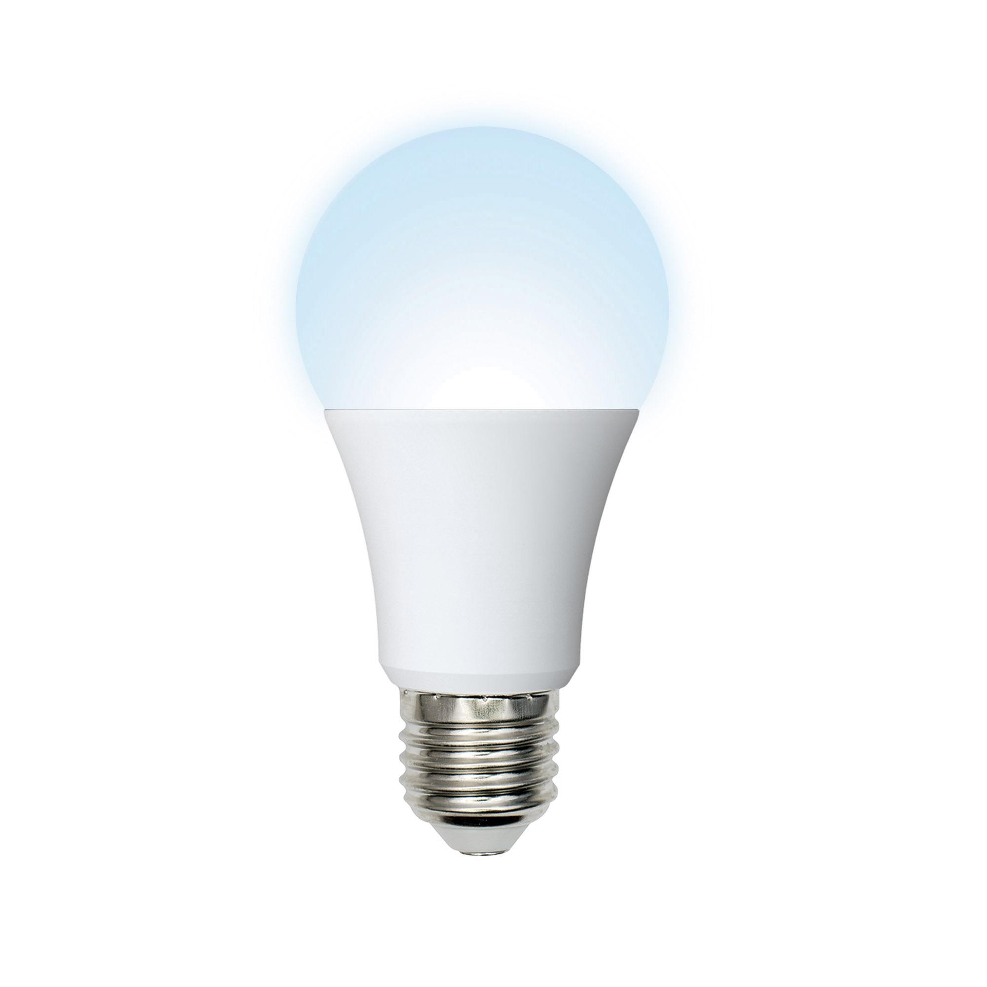 Лампа светодиодная Volpe Norma E27 230 В 9 Вт груша матовая 720 лм нейтральный белый свет
