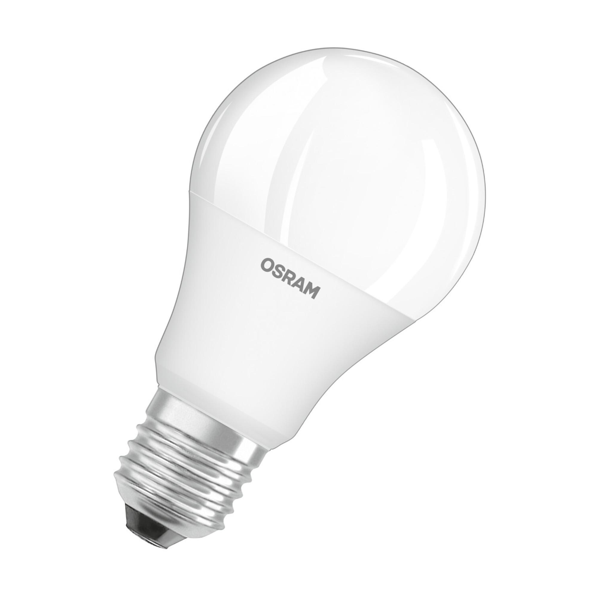 Лампа светодиодная Osram E27 220-240 В 9 Вт груша матовая 806 лм регулируемый цвет света RGBW для диммера с пультом ДУ
