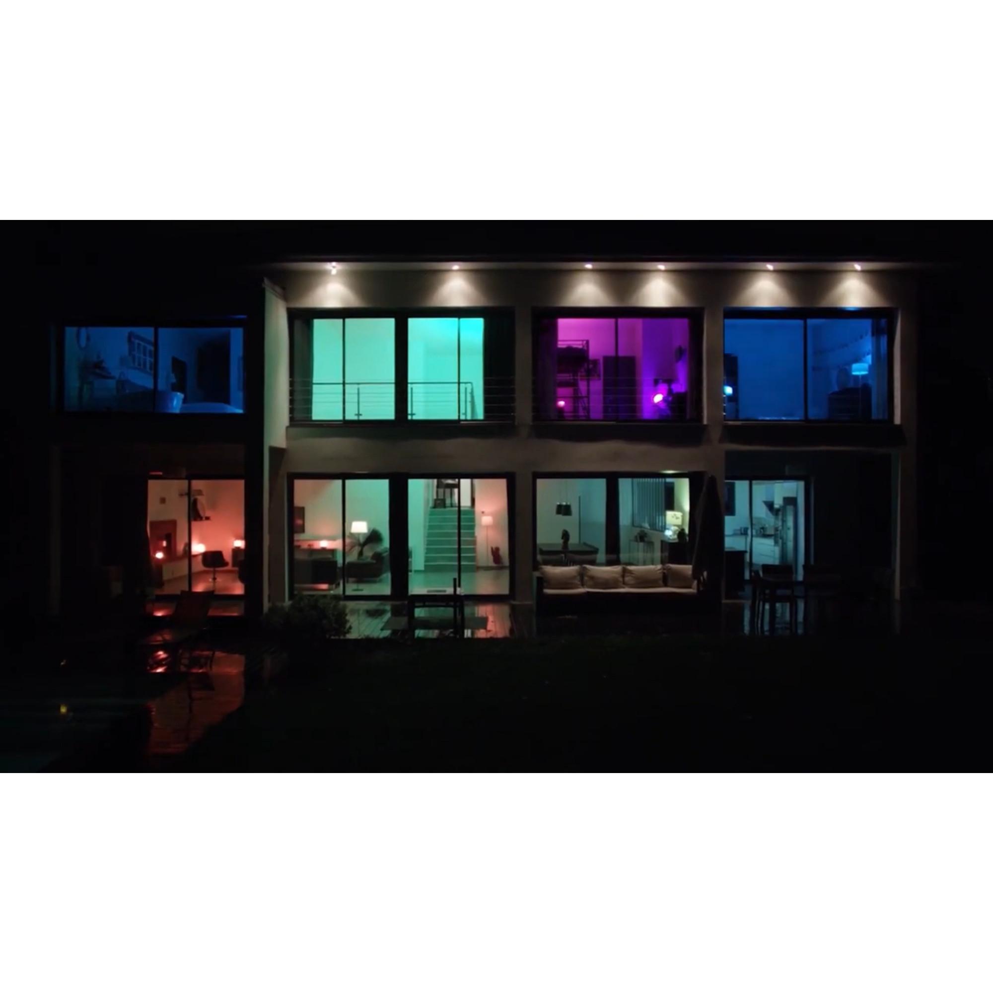 Лампа умная светодиодная Gauss E14 220 В 5 Вт свеча матовая 470 лм регулируемый цвет света для диммера