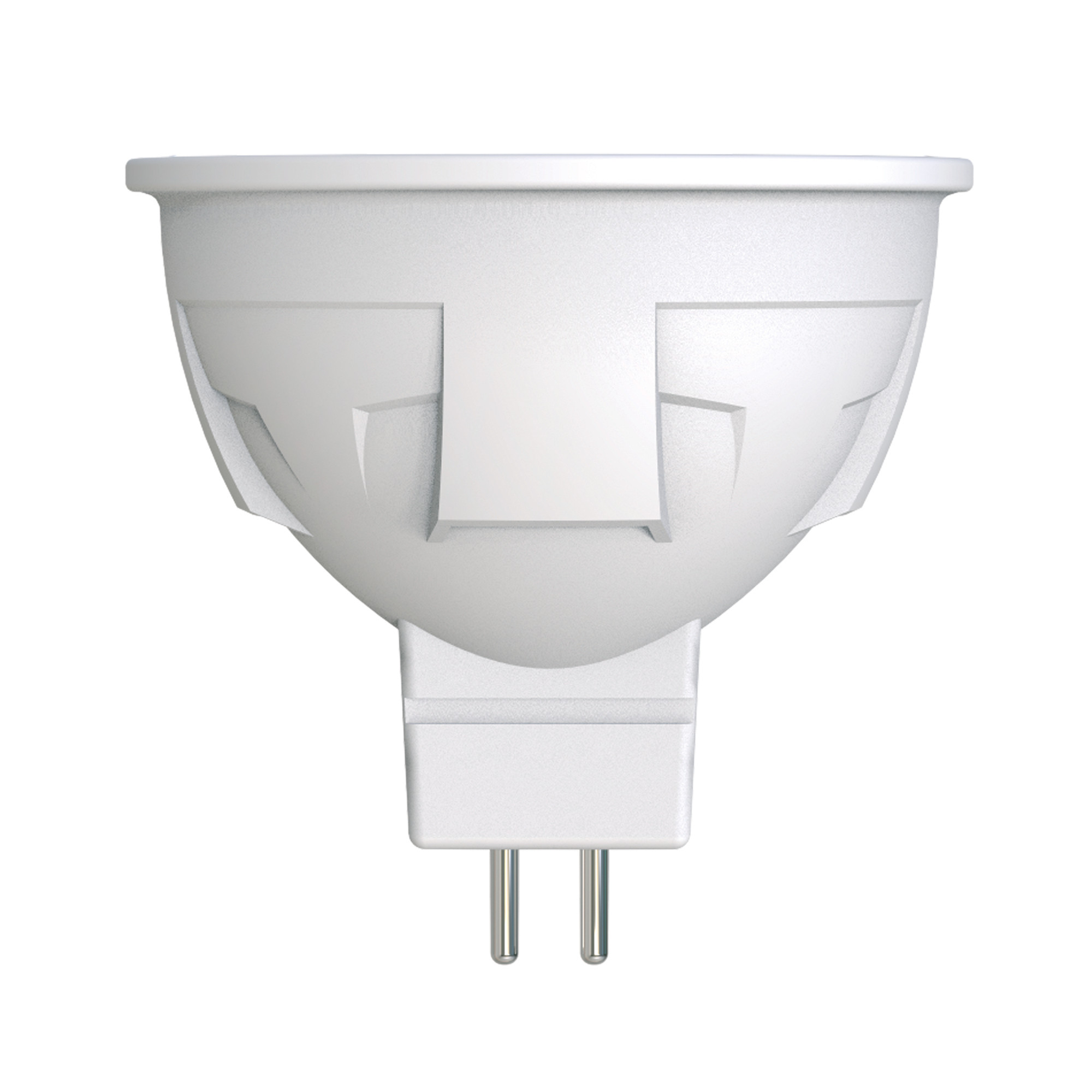 Лампа светодиодная «Яркая» GU5.3 220 В 6 Вт спот матовый 500 лм тёплый белый свет для диммера