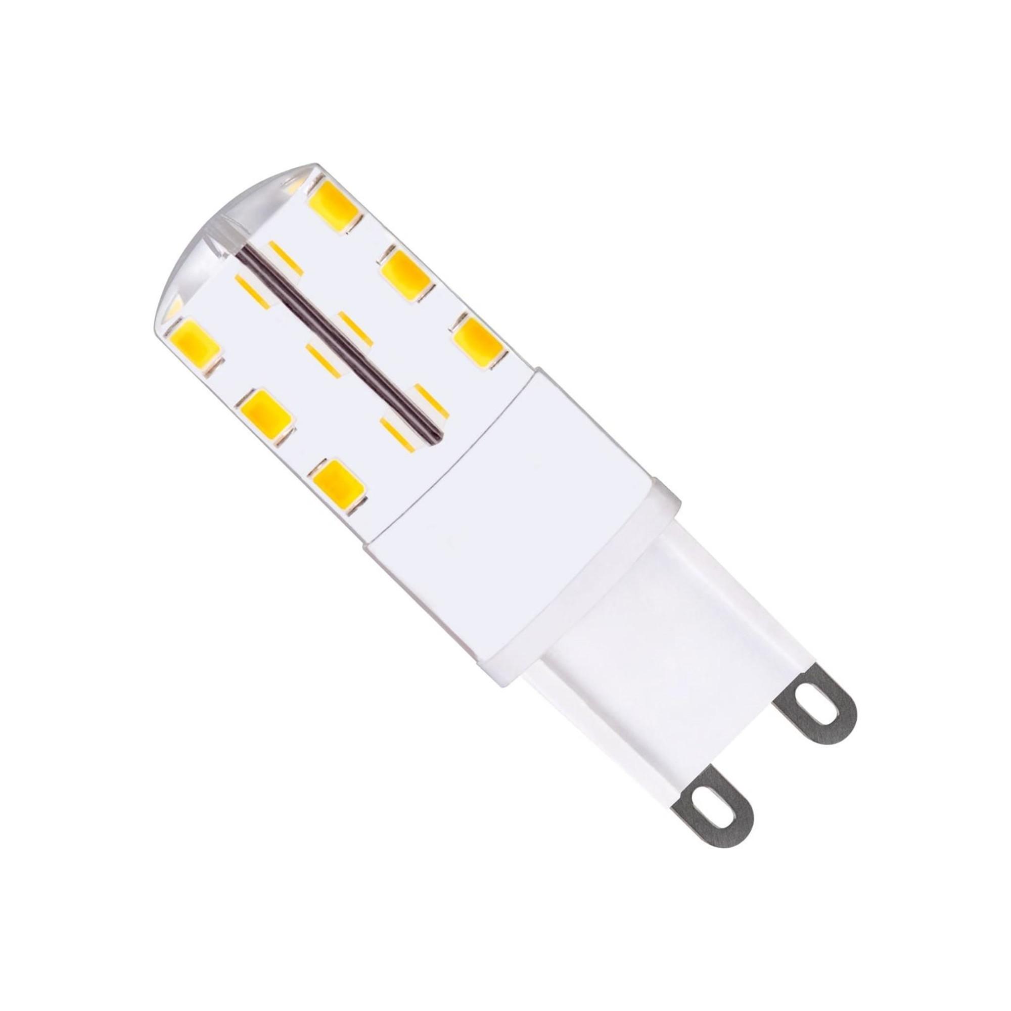 Лампа светодиодная (комплект 5 шт.) REV JCD G9 1.6W 3000K 32439 3