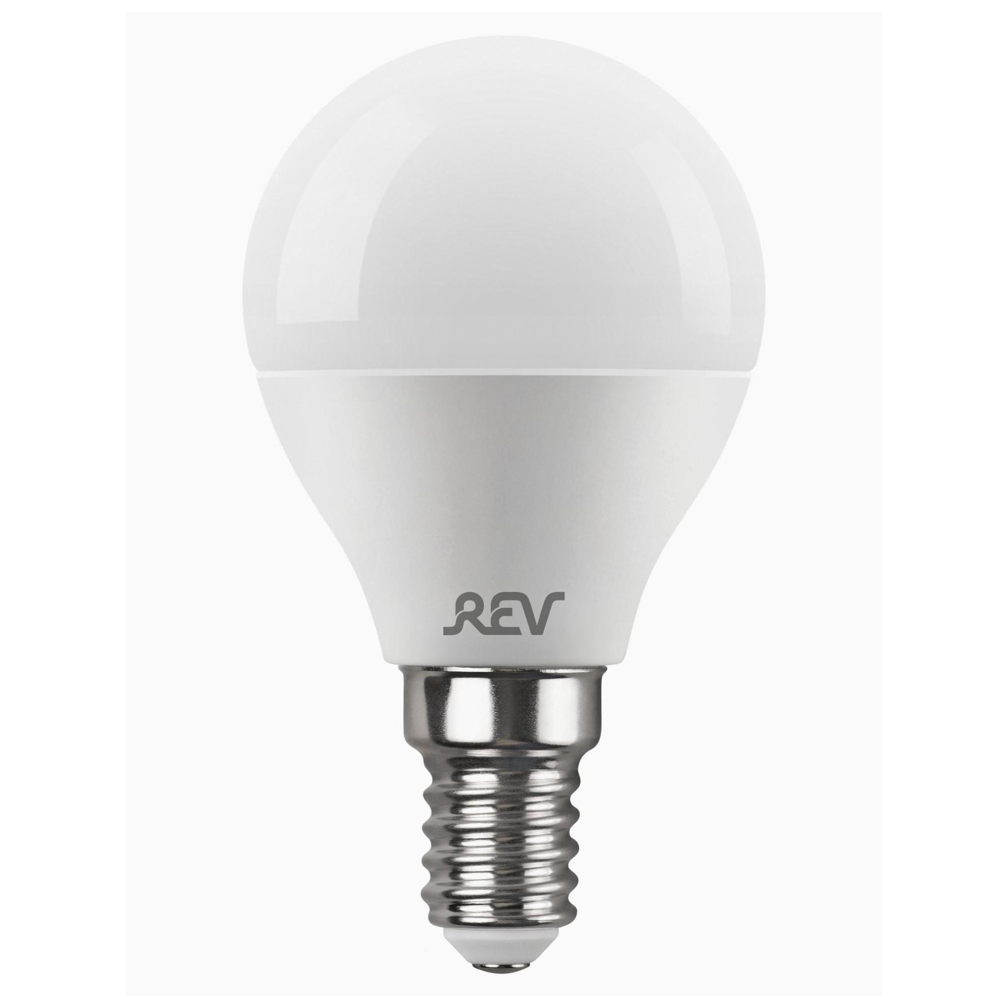 Лампа светодиодная (комплект 5 шт.) REV G45 Е14 9W 4000K 32407 2