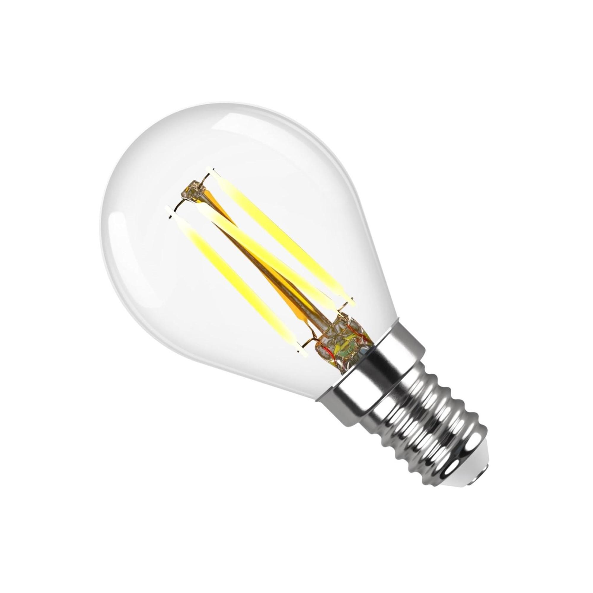 Лампа светодиодная (комплект 5 шт.) REV FILAMENT G45 E14 7W 4000K DECO Premium 32483 6