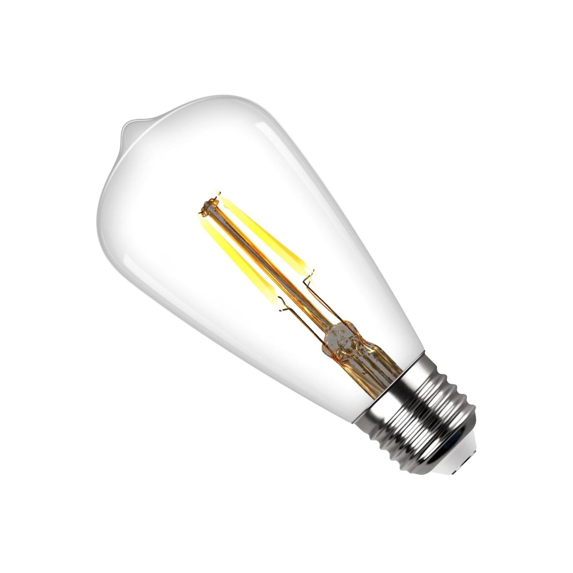 Лампа светодиодная (комплект 5 шт.) REV VINTAGE Filament ST64 E27 7W 2700K DECO Premium 32436 2
