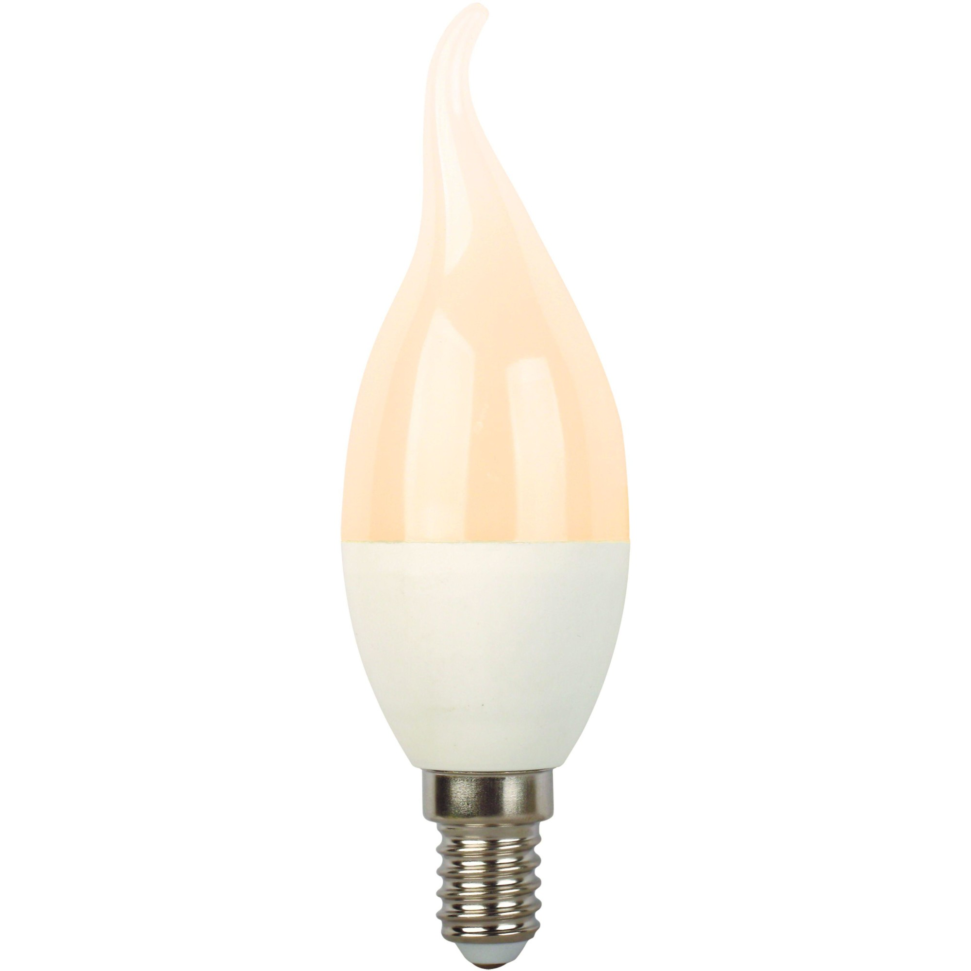 Лампа Ecola Premium светодионая E14 8 Вт свеча на ветру 640 Лм теплый свет