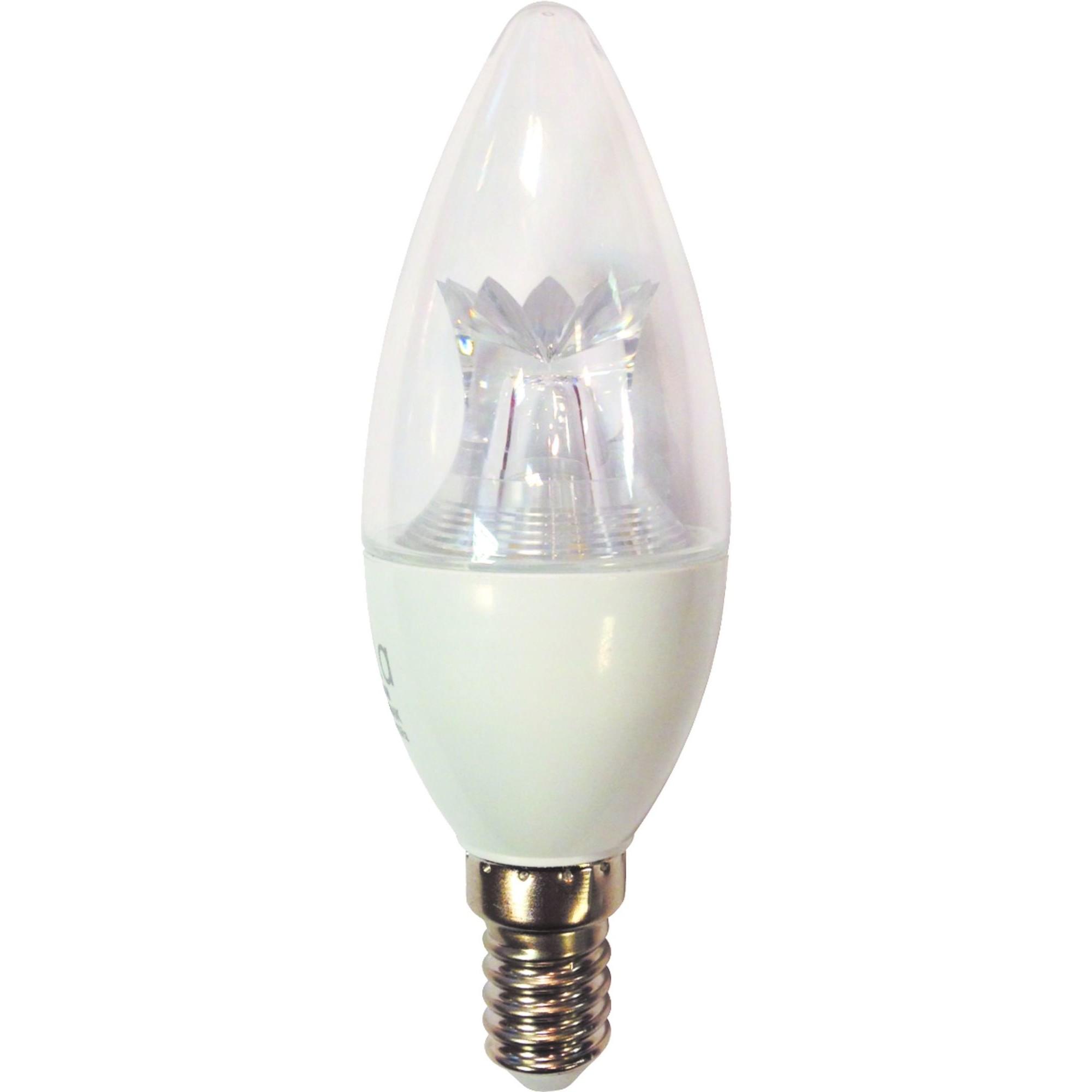 Лампа Ecola Premium светодионая E14 7 Вт свеча 595 Лм теплый свет