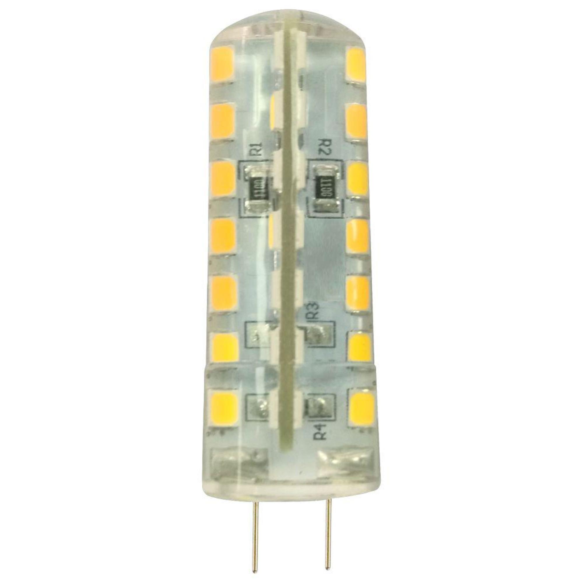 Лампа Ecola стандарт светодионая G4 4 Вт капсула 320 Лм теплый свет