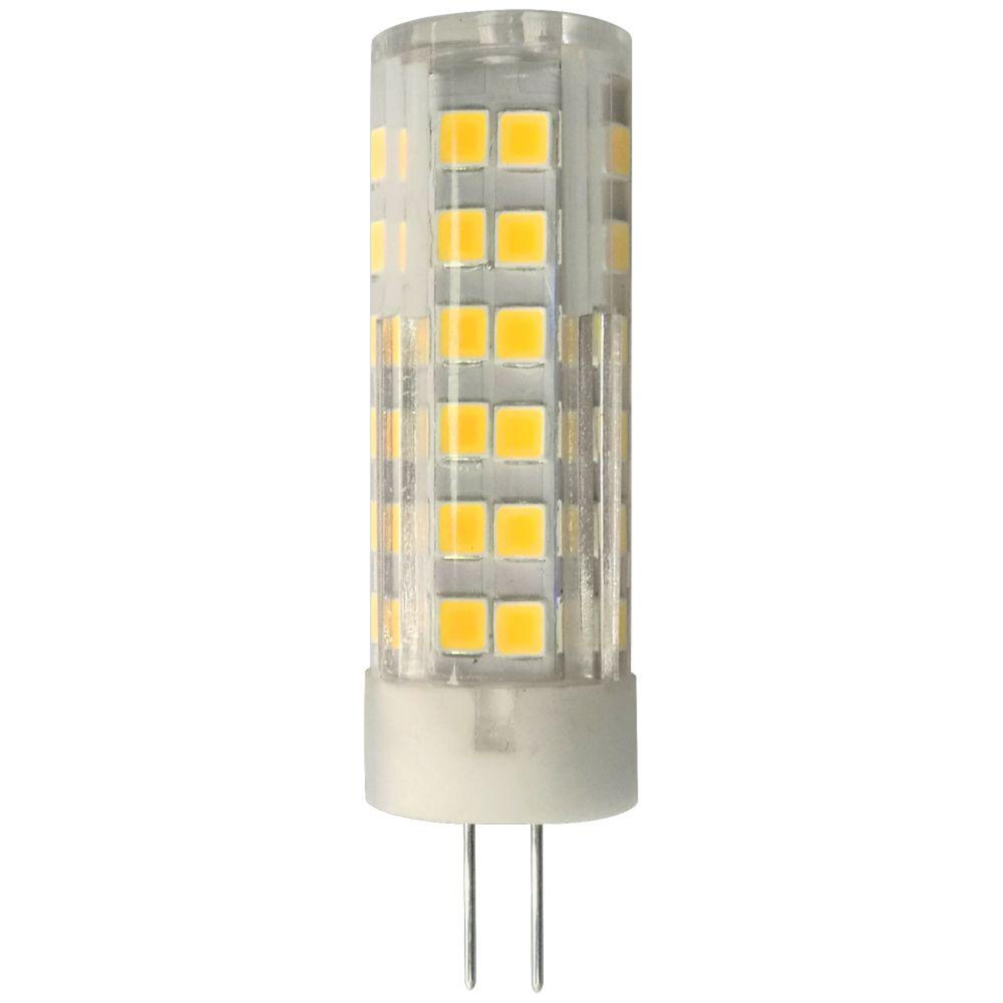 Лампа Ecola стандарт светодионая G4 5.50 Вт капсула 440 Лм теплый свет