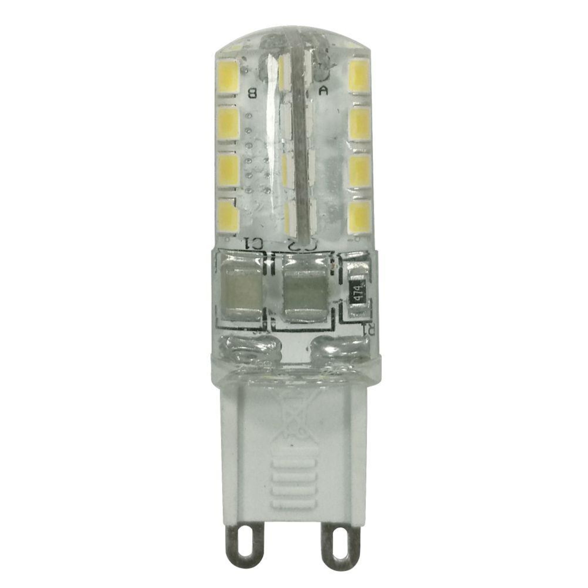 Лампа Ecola стандарт светодионая G9 3 Вт капсула 240 Лм нейтральный свет