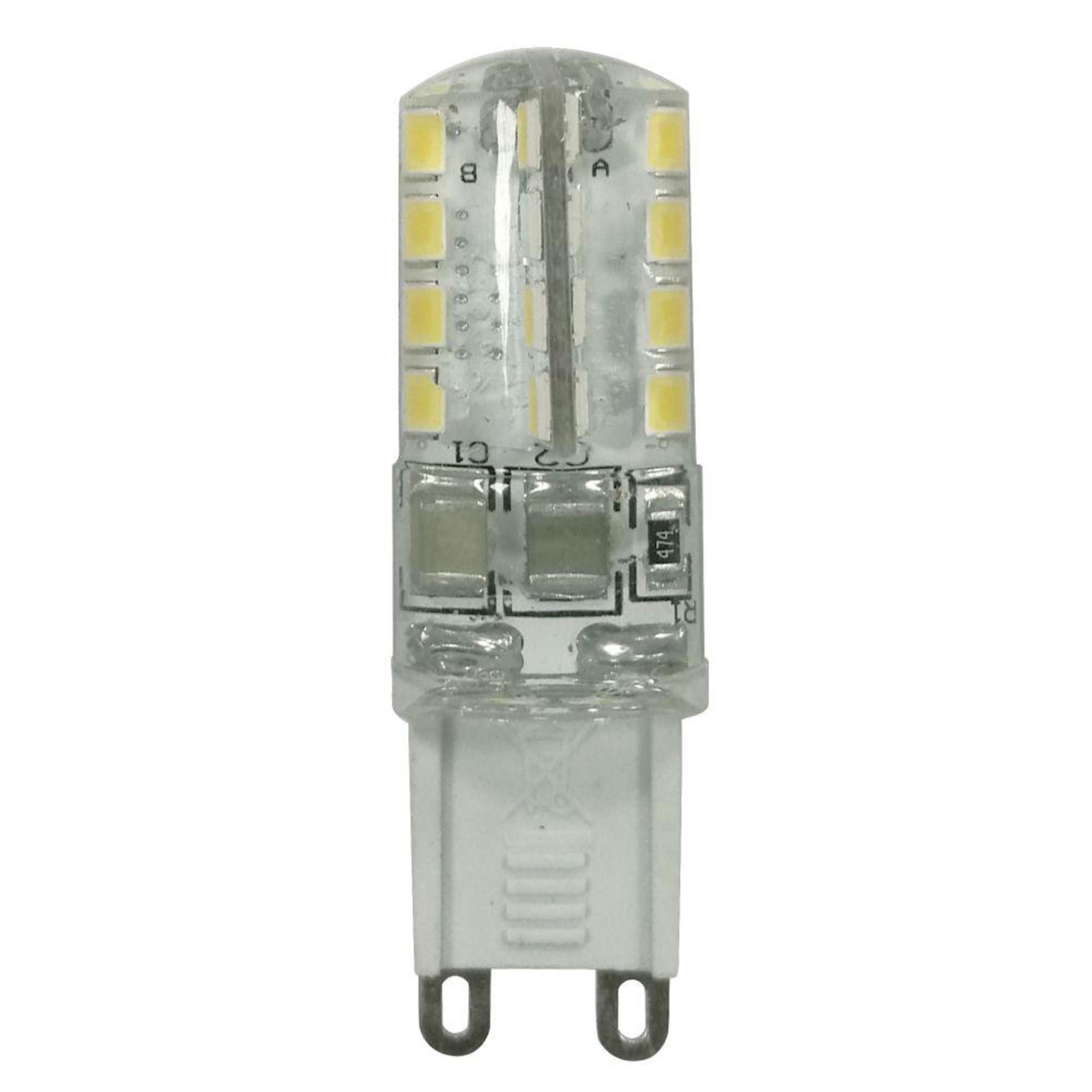 Лампа Ecola стандарт светодионая G9 3 Вт капсула 240 Лм теплый свет