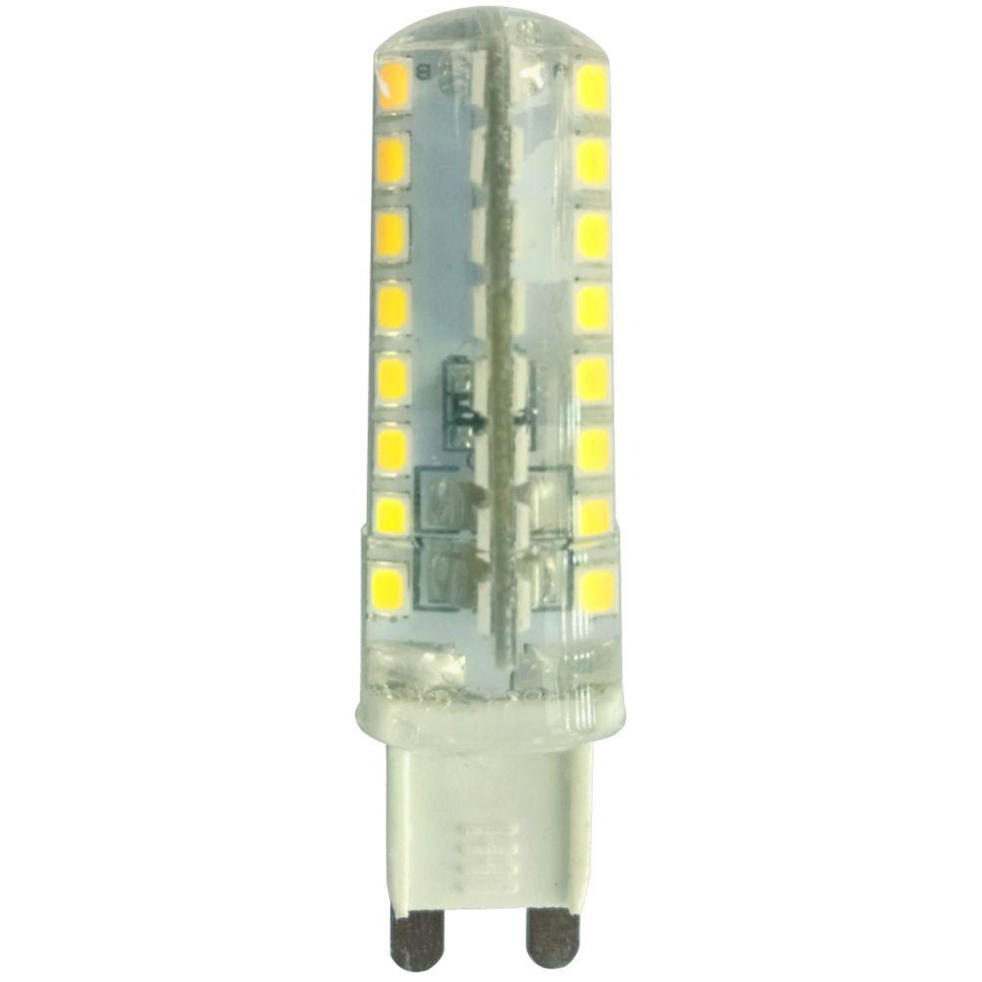 Лампа Ecola стандарт светодионая G9 5 Вт капсула 400 Лм теплый свет