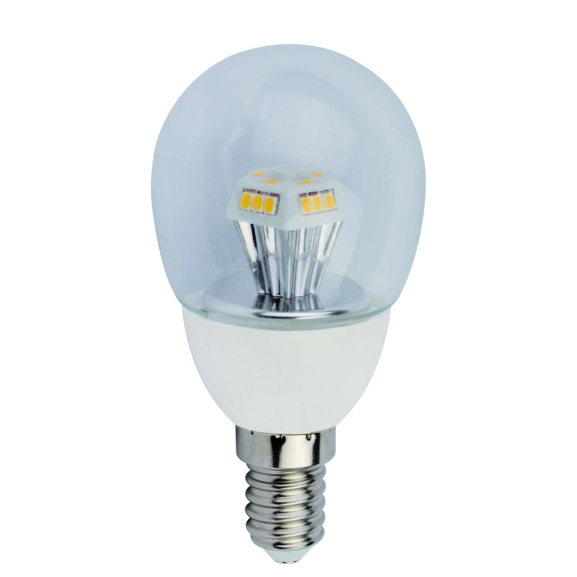 Лампа Ecola стандарт светодионая E14 4.20 Вт шар 336 Лм теплый свет