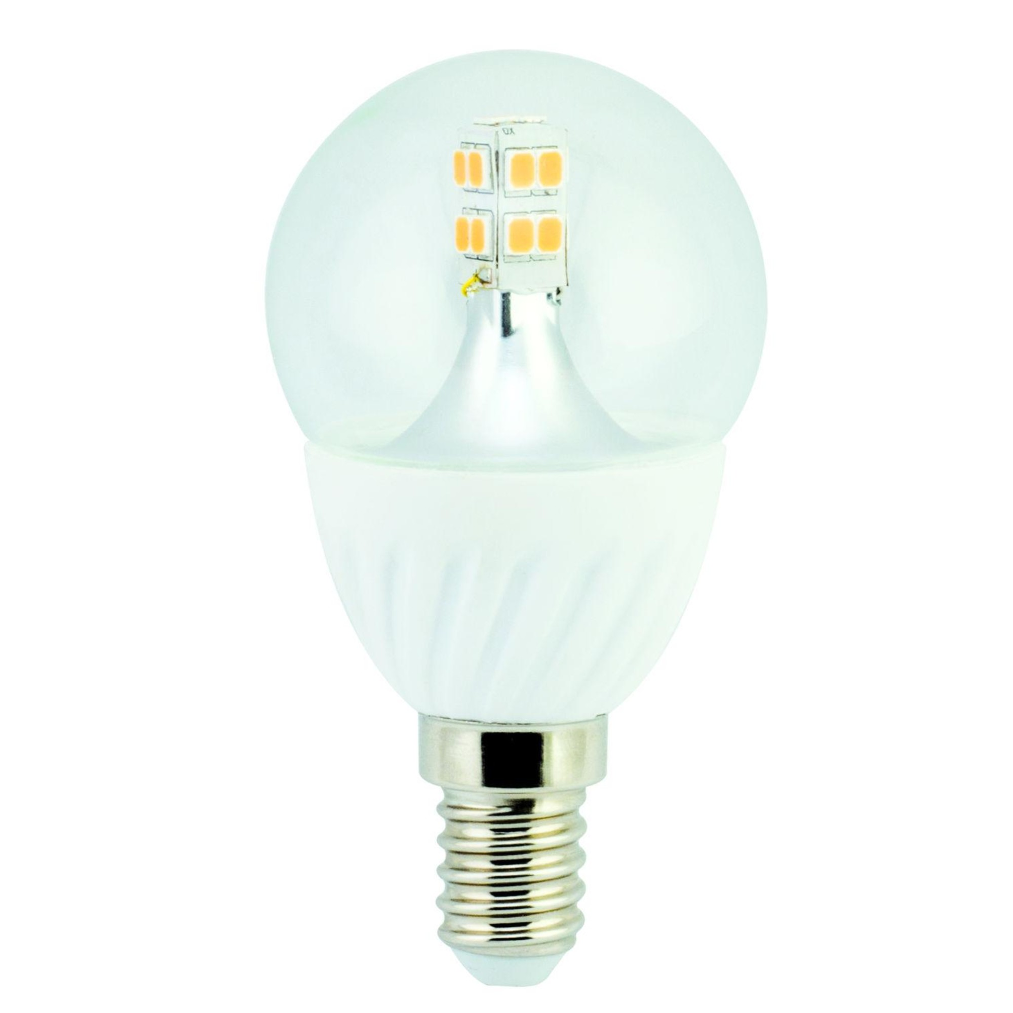 Лампа Ecola Premium светодионая E14 4 Вт шар 340 Лм теплый свет