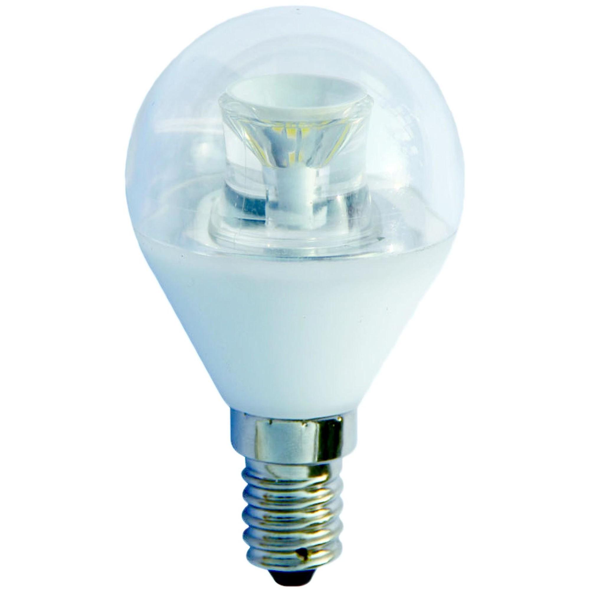 Лампа Ecola Premium светодионая E14 7 Вт шар 595 Лм теплый свет