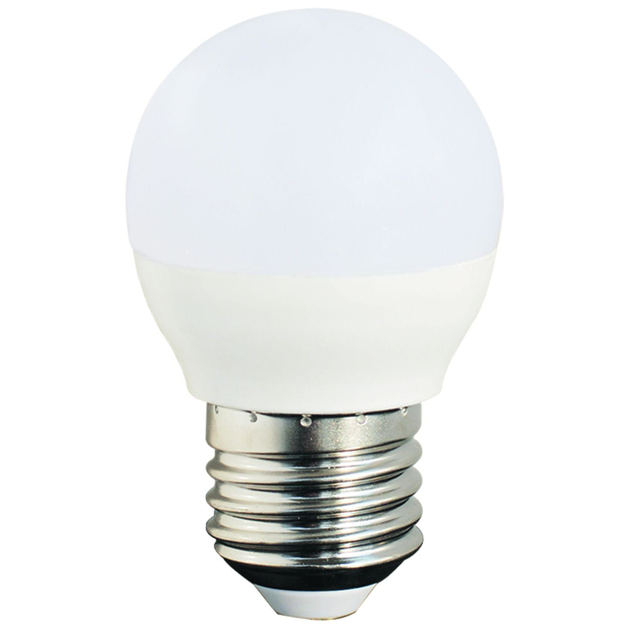 Лампа Ecola стандарт светодионая E27 7 Вт шар 490 Лм нейтральный свет