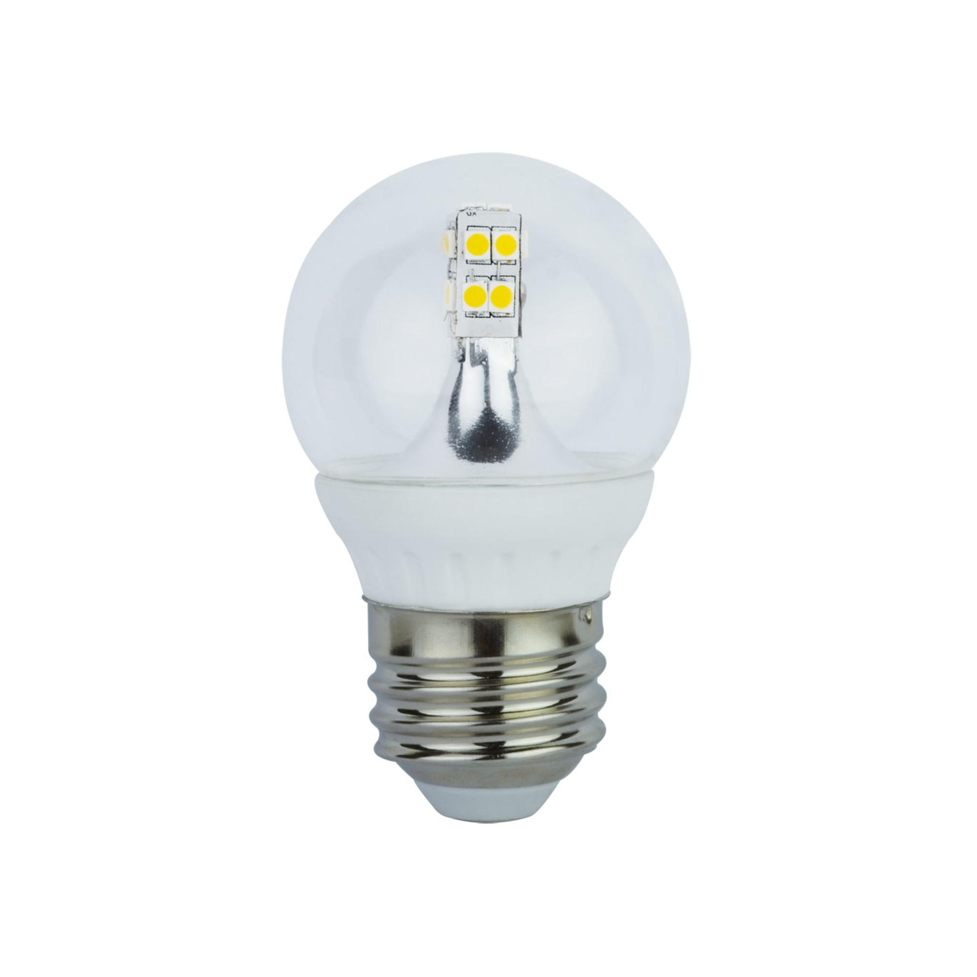 Лампа Ecola стандарт светодионая E27 4 Вт шар 280 Лм нейтральный свет